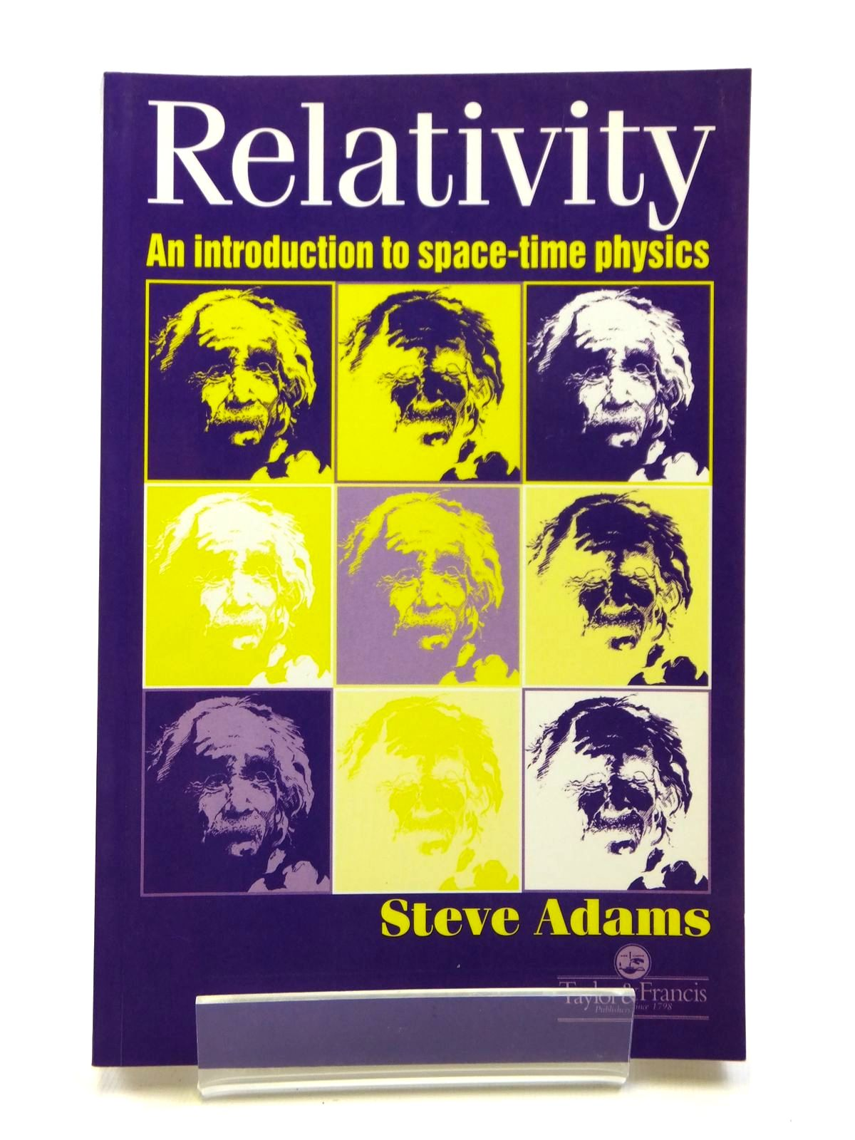 Photo of RELATIVITY AN INTRODUCTION TO SPACE-TIME PHYSICS- Stock Number: 1608073