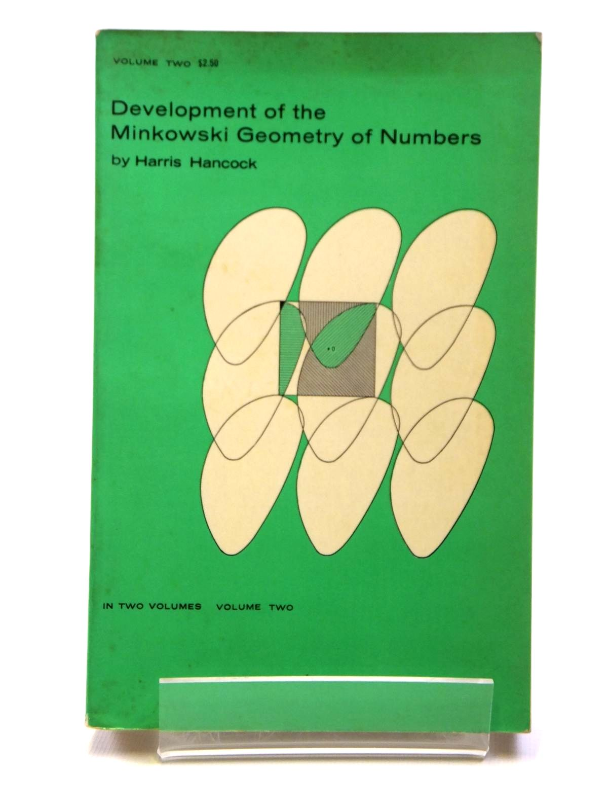 Photo of DEVELOPMENT OF THE MINKOWSKI GEOMETRY OF NUMBERS VOLUME TWO written by Hancock, Harris published by Dover Publications Inc. (STOCK CODE: 1608083)  for sale by Stella & Rose's Books