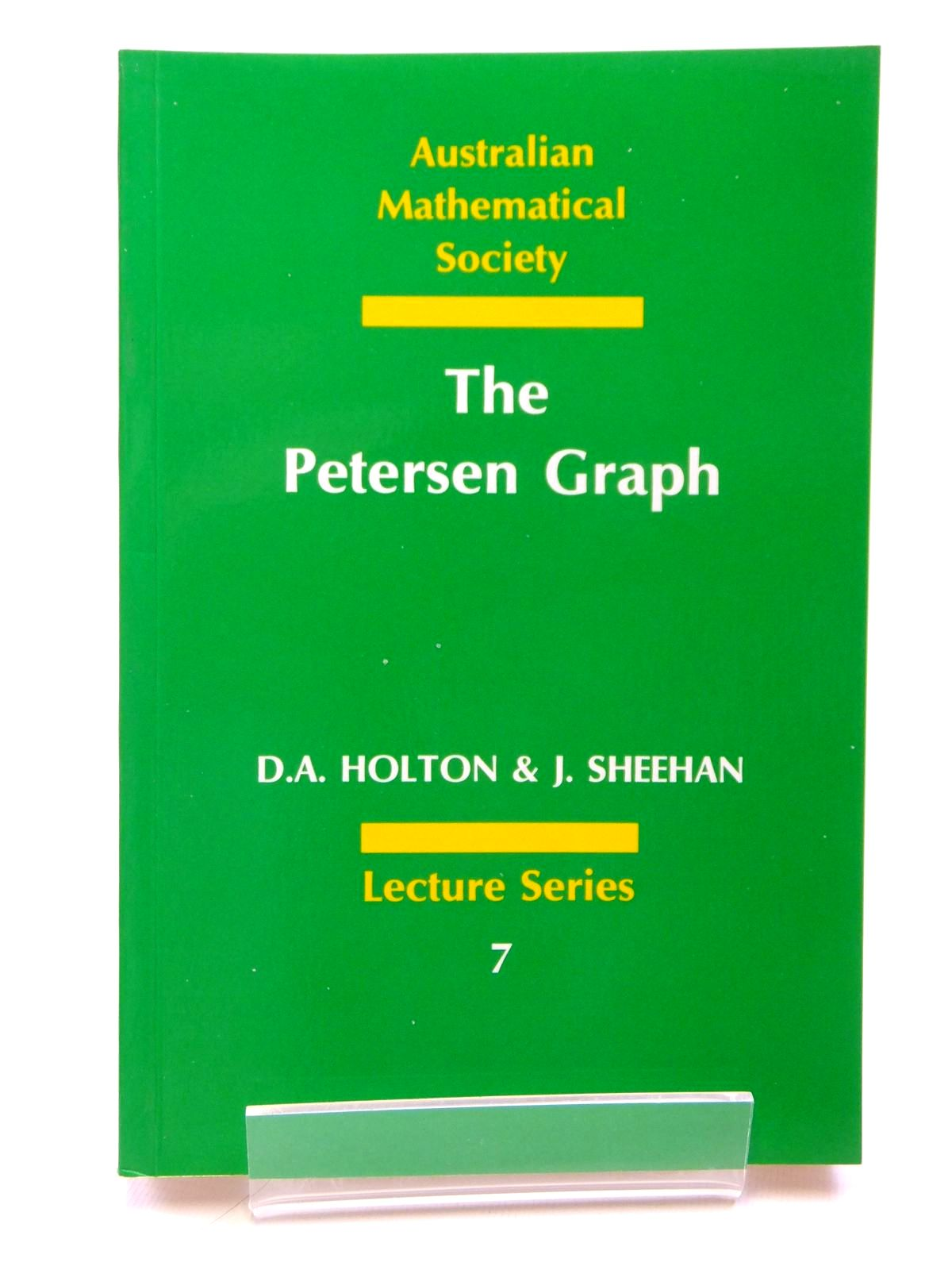 Photo of THE PETERSEN GRAPH- Stock Number: 1608110