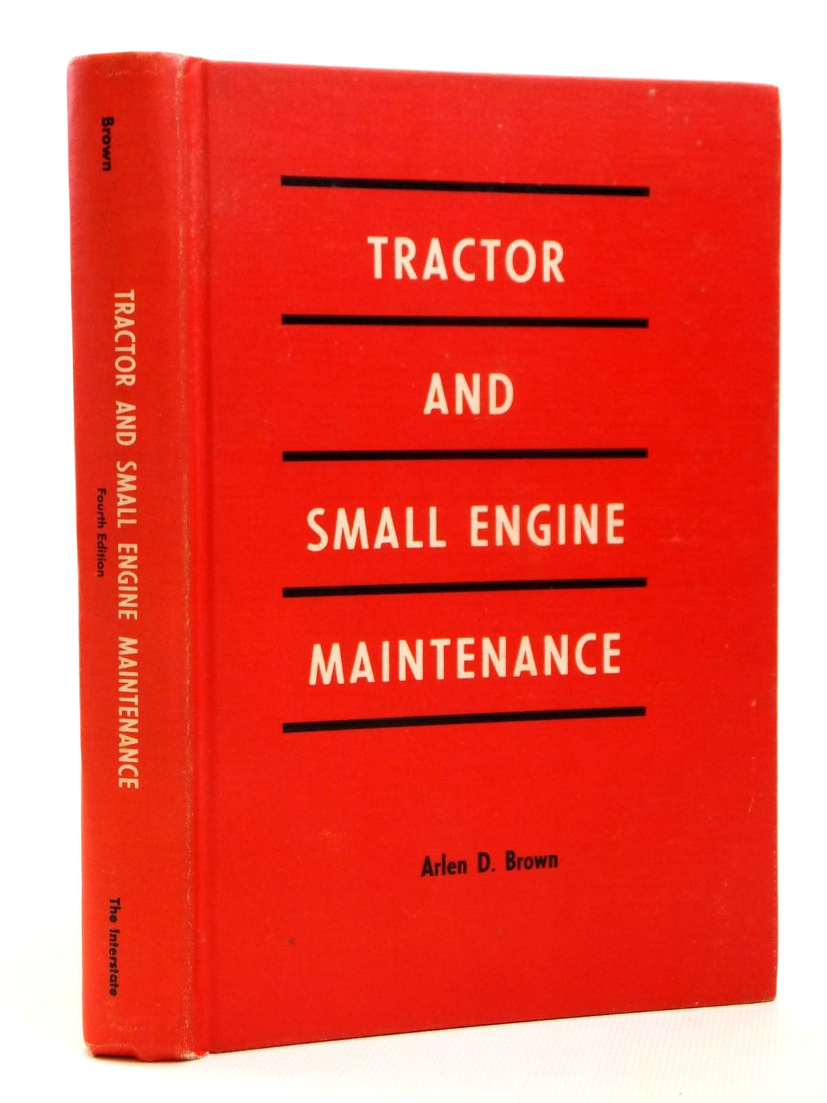 Photo of TRACTOR AND SMALL ENGINE MAINTENANCE- Stock Number: 1608298