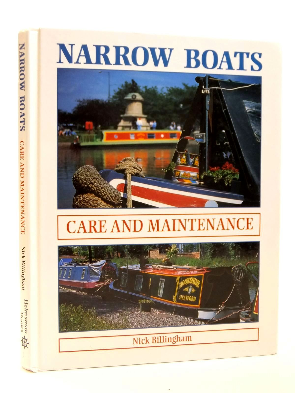 Photo of NARROW BOATS CARE AND MAINTENACE written by Billingham, Nick published by The Crowood Press (STOCK CODE: 1608305)  for sale by Stella & Rose's Books