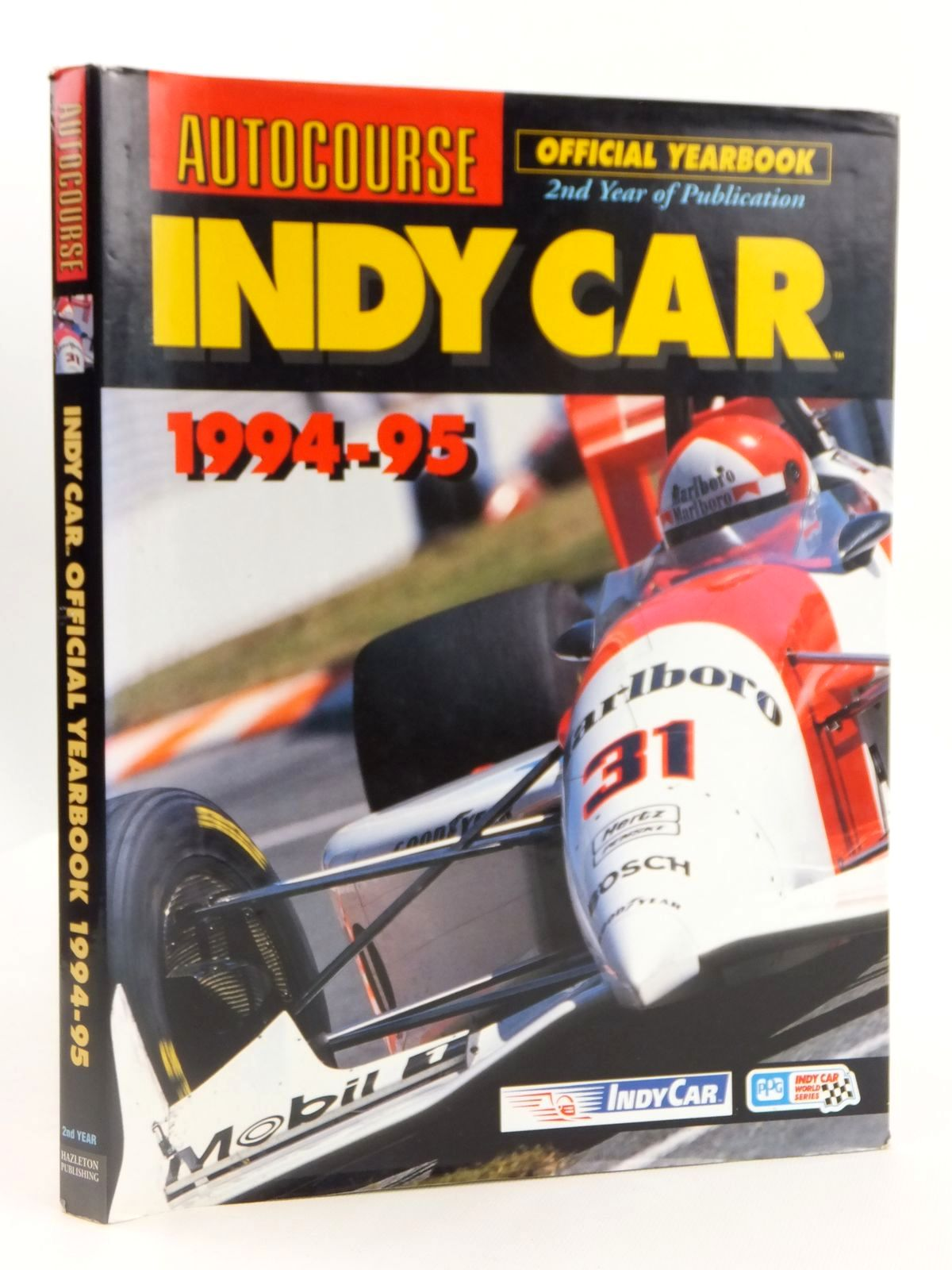 Photo of AUTOCOURSE INDY CAR 1994-95 published by Hazleton Publishing (STOCK CODE: 1608396)  for sale by Stella & Rose's Books