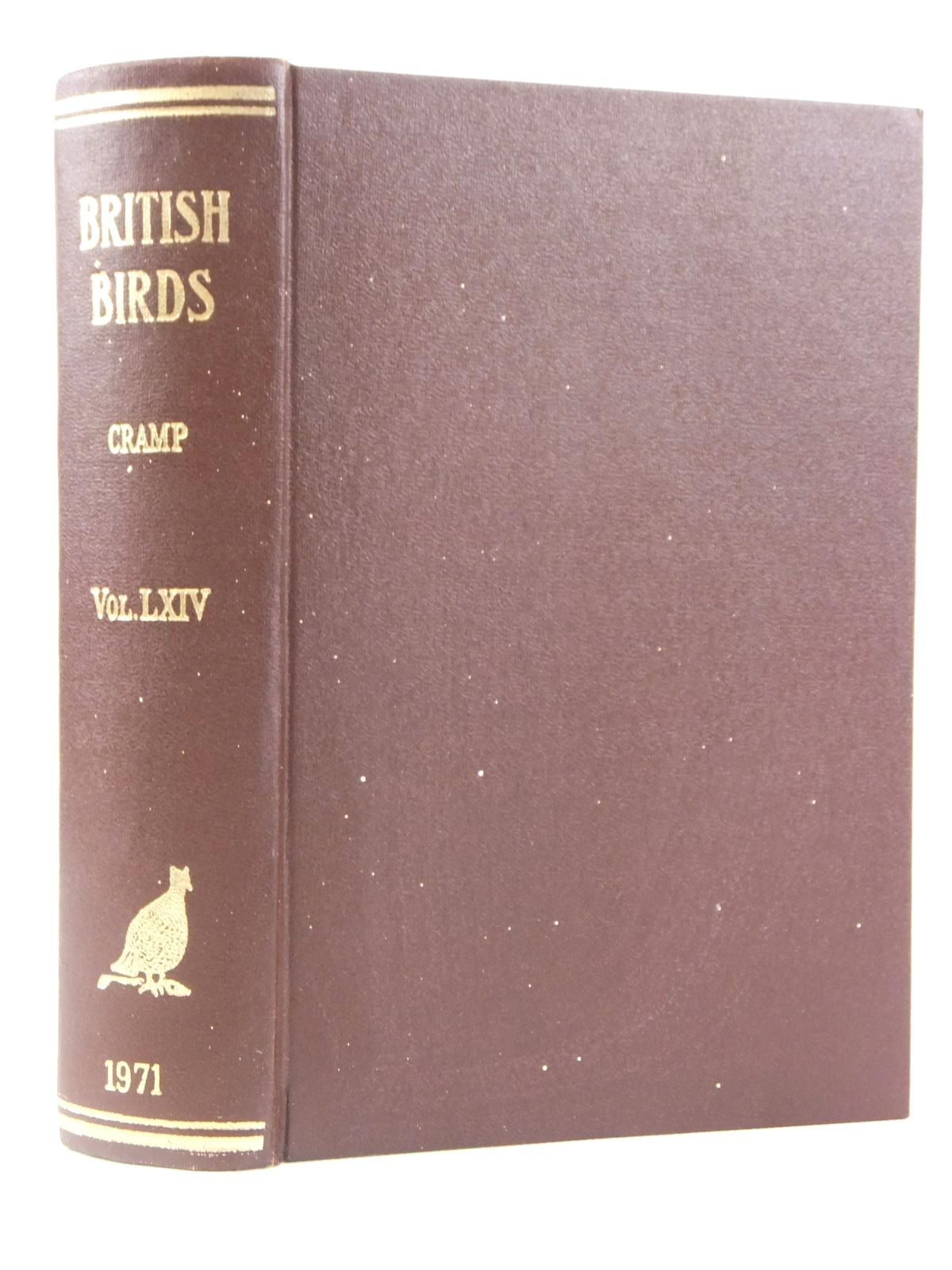 Photo of BRITISH BIRDS VOL. LXIV- Stock Number: 1608529