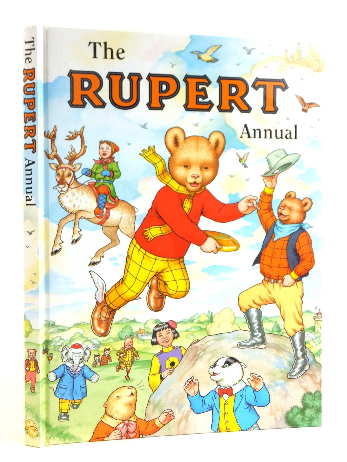 Photo of RUPERT ANNUAL 1999 written by Robinson, Ian illustrated by Harrold, John Hart, Gina published by Pedigree Books Limited (STOCK CODE: 1608611)  for sale by Stella & Rose's Books