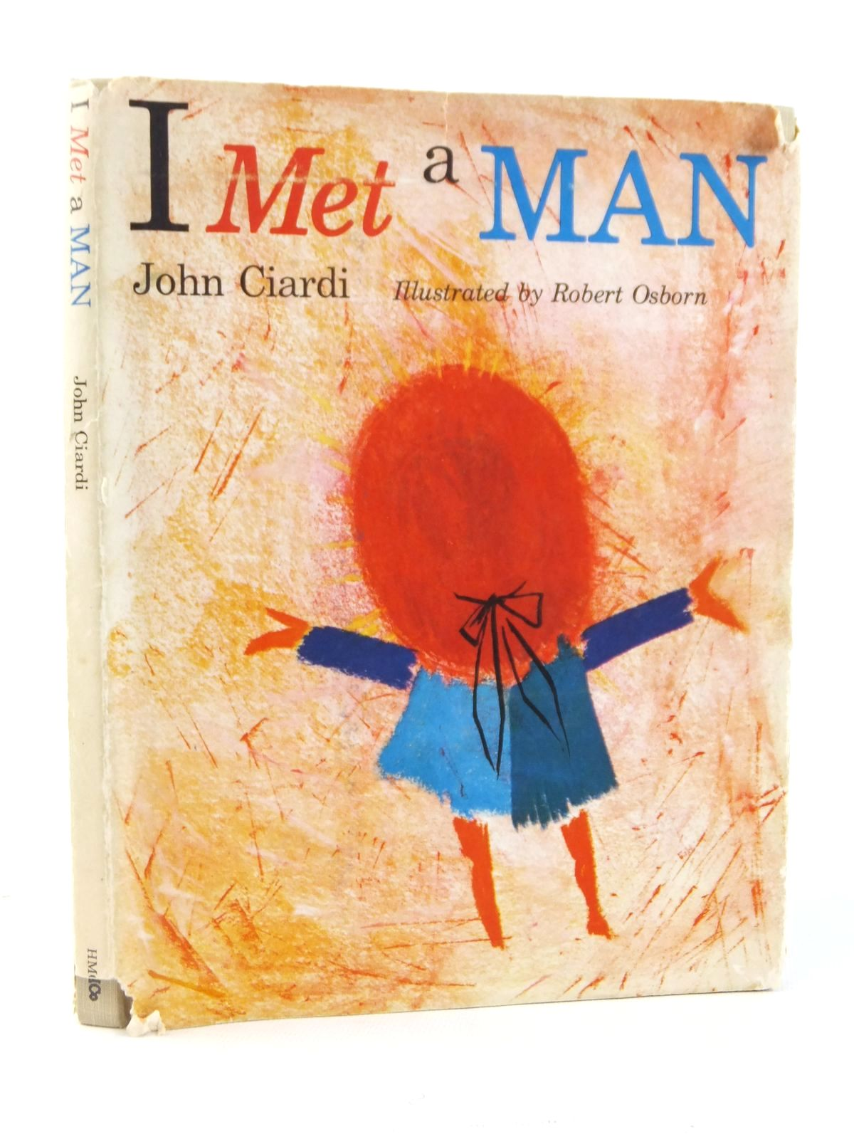 Photo of I MET A MAN written by Ciardi, John illustrated by Osborn, Robert published by Houghton Mifflin Company (STOCK CODE: 1608762)  for sale by Stella & Rose's Books