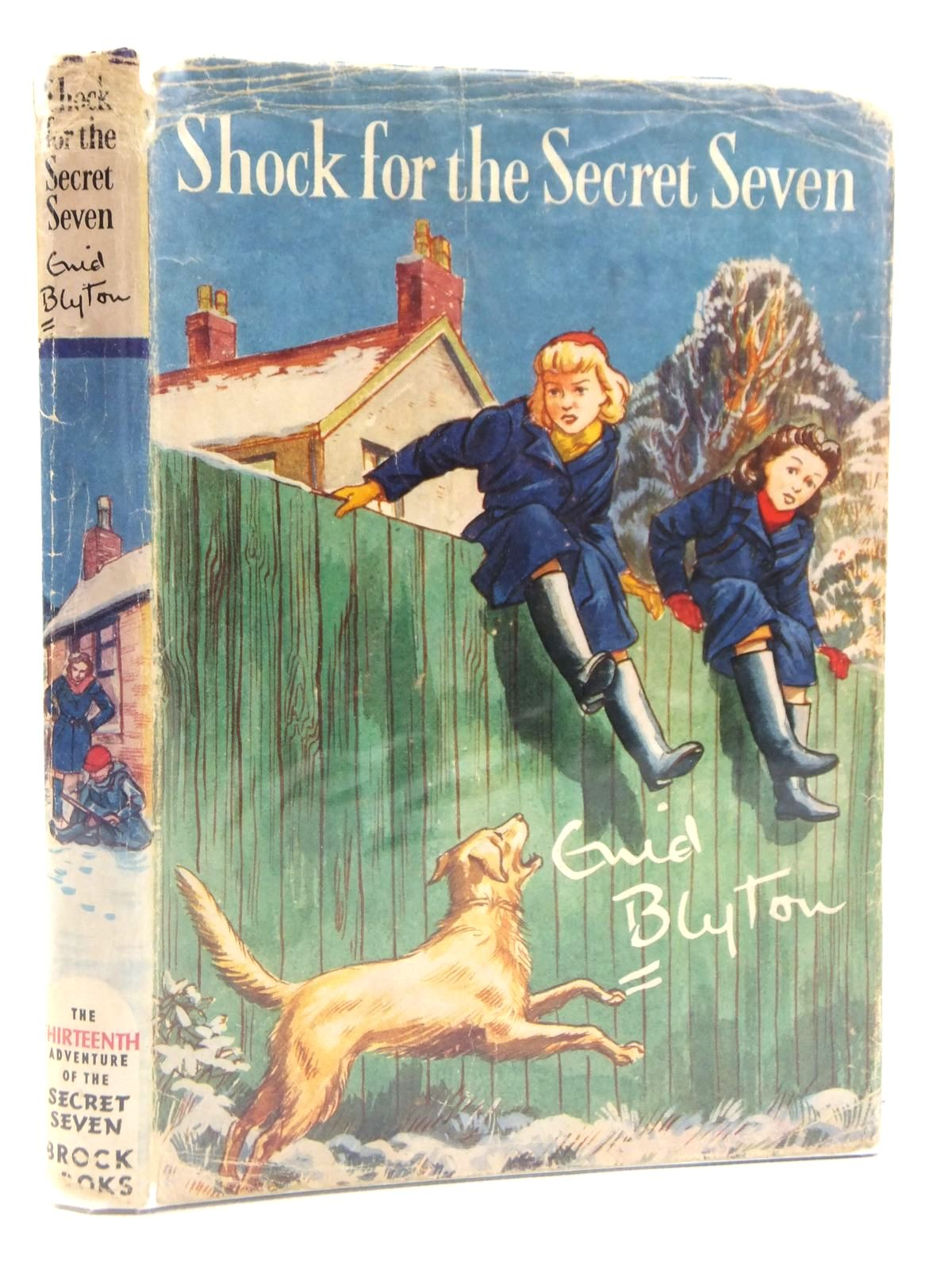 Photo of SHOCK FOR THE SECRET SEVEN written by Blyton, Enid illustrated by Sharrocks, Burgess published by Brockhampton Press (STOCK CODE: 1608792)  for sale by Stella & Rose's Books