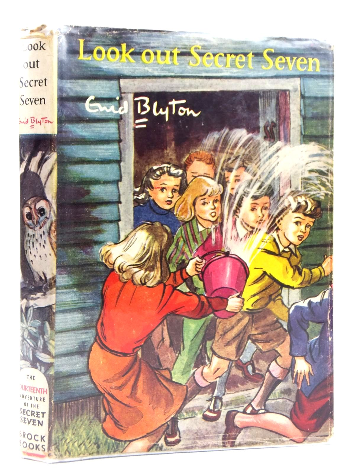 Photo of LOOK OUT SECRET SEVEN written by Blyton, Enid illustrated by Sharrocks, Burgess published by Brockhampton Press (STOCK CODE: 1608793)  for sale by Stella & Rose's Books