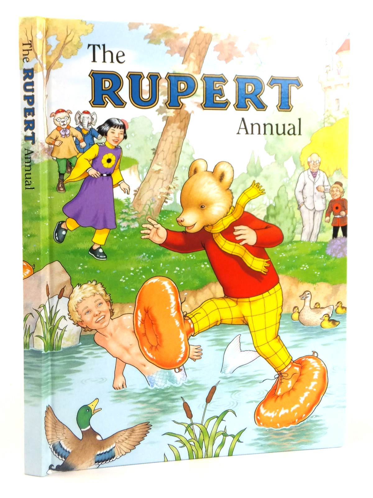 Photo of RUPERT ANNUAL 1997 written by Robinson, Ian illustrated by Harrold, John published by Pedigree Books Limited (STOCK CODE: 1608806)  for sale by Stella & Rose's Books