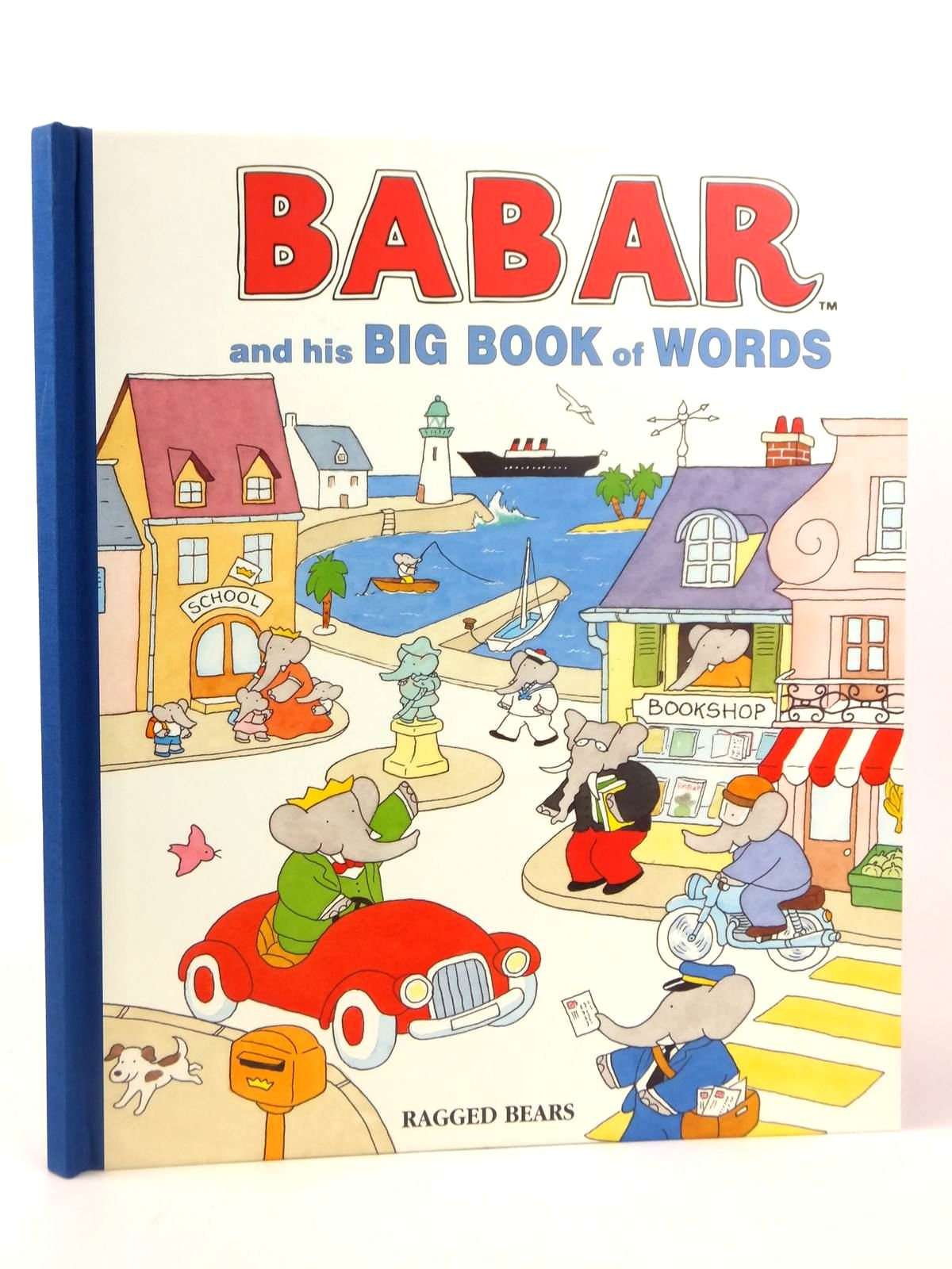 Photo of BABAR AND HIS BIG BOOK OF WORDS- Stock Number: 1608855