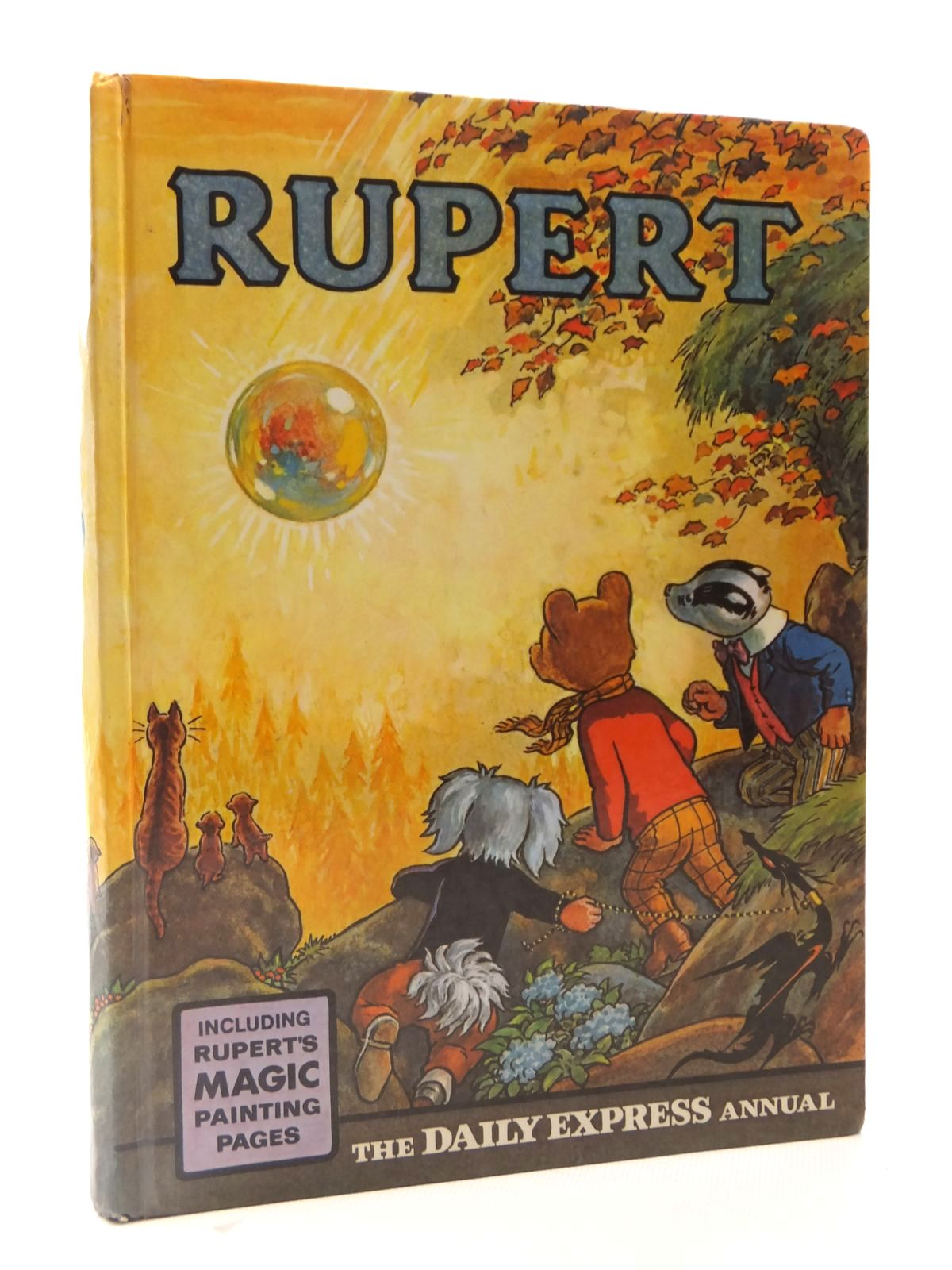 Photo of RUPERT ANNUAL 1968 written by Bestall, Alfred illustrated by Bestall, Alfred published by Daily Express (STOCK CODE: 1608913)  for sale by Stella & Rose's Books