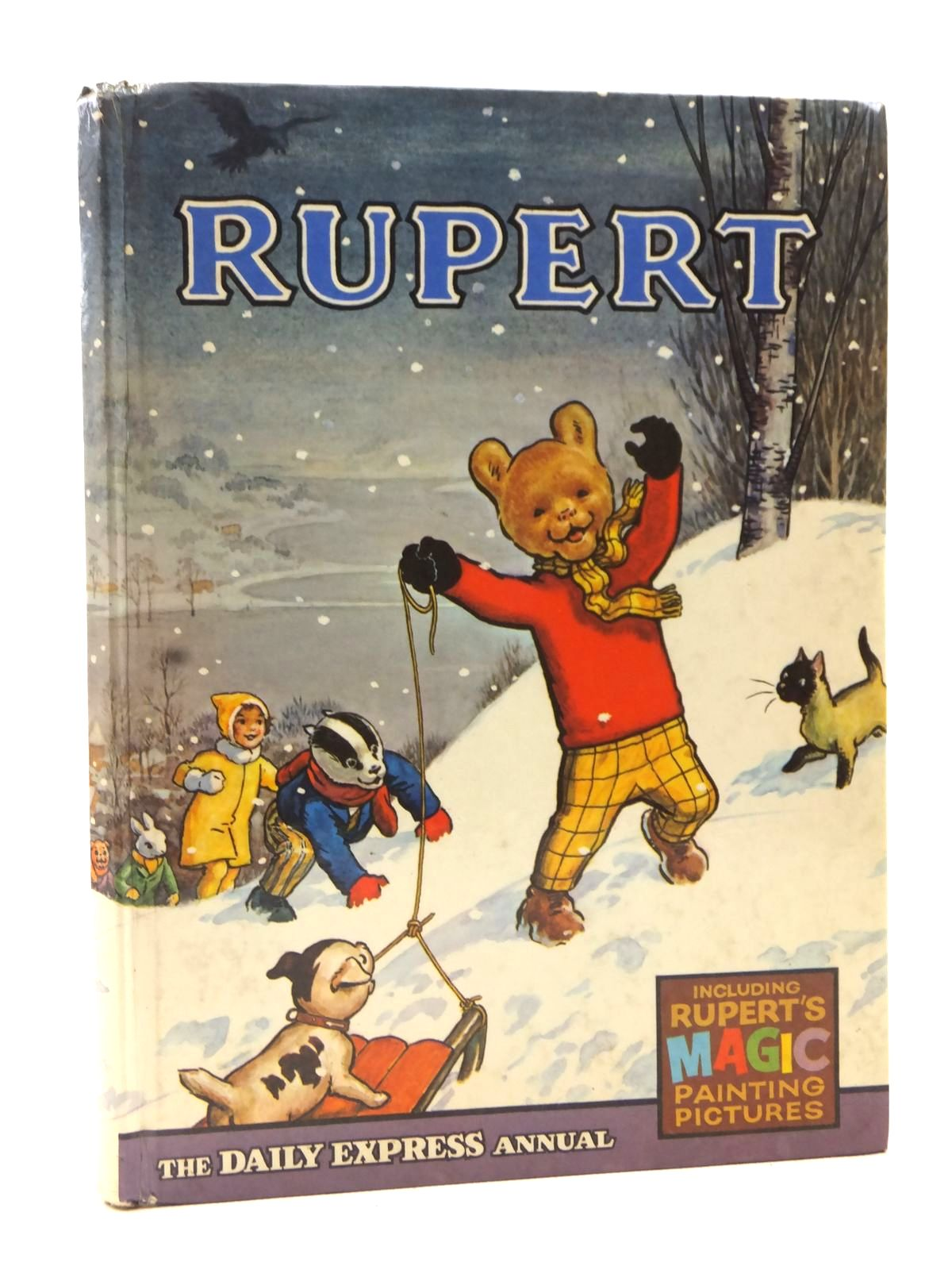Photo of RUPERT ANNUAL 1967 written by Bestall, Alfred illustrated by Bestall, Alfred published by Daily Express (STOCK CODE: 1608953)  for sale by Stella & Rose's Books