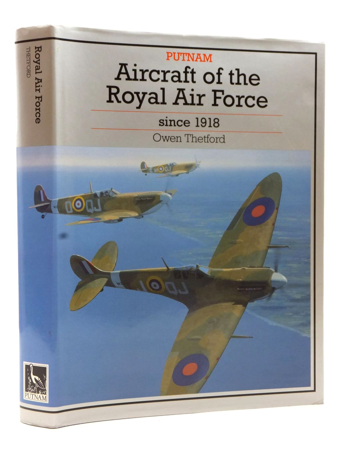 Photo of AIRCRAFT OF THE ROYAL AIR FORCE SINCE 1918 written by Thetford, Owen G. published by Putnam (STOCK CODE: 1608962)  for sale by Stella & Rose's Books