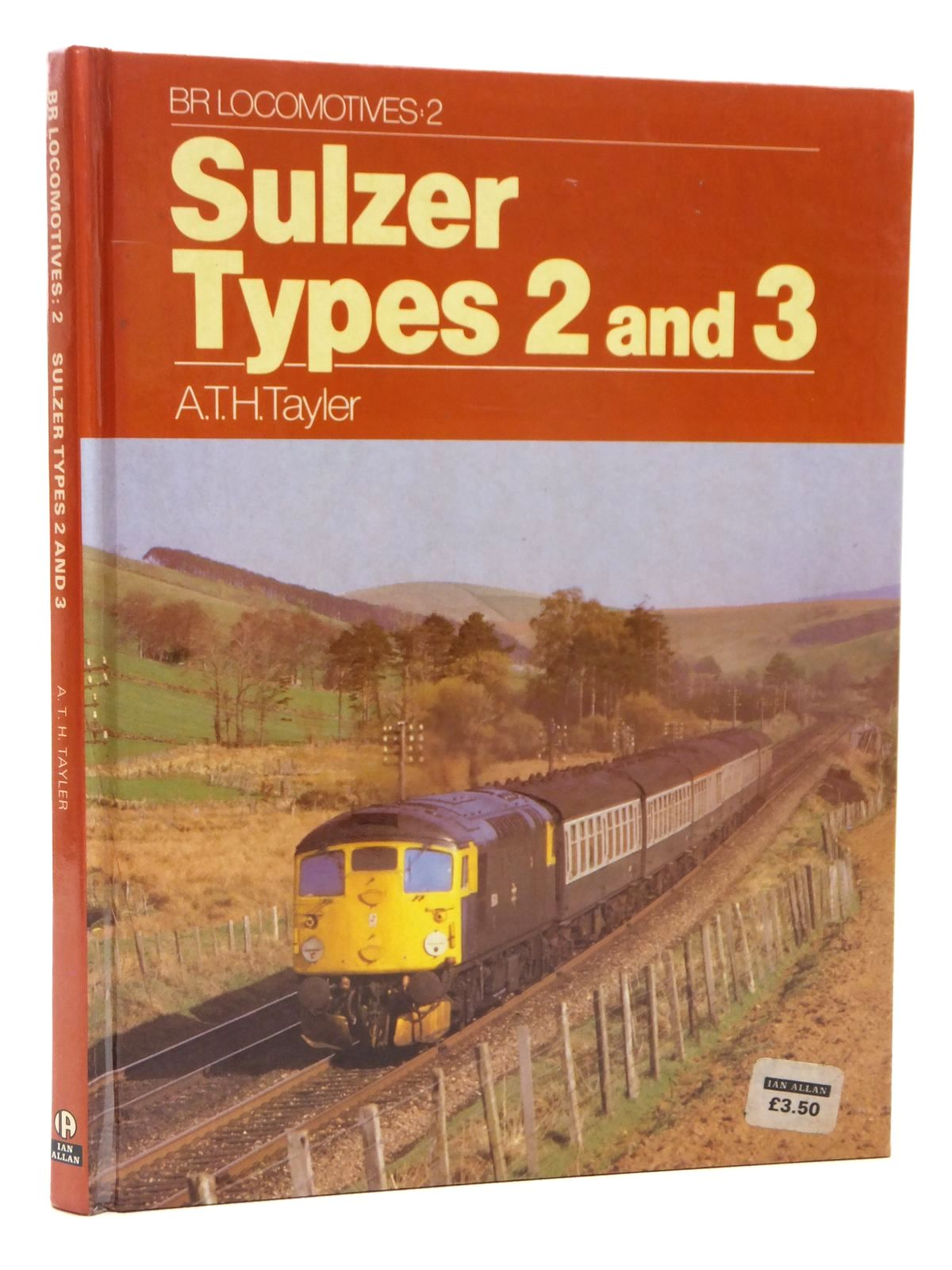 Photo of SULZER TYPES 2 AND 3 written by Tayler, A.T.H. published by Ian Allan (STOCK CODE: 1609090)  for sale by Stella & Rose's Books