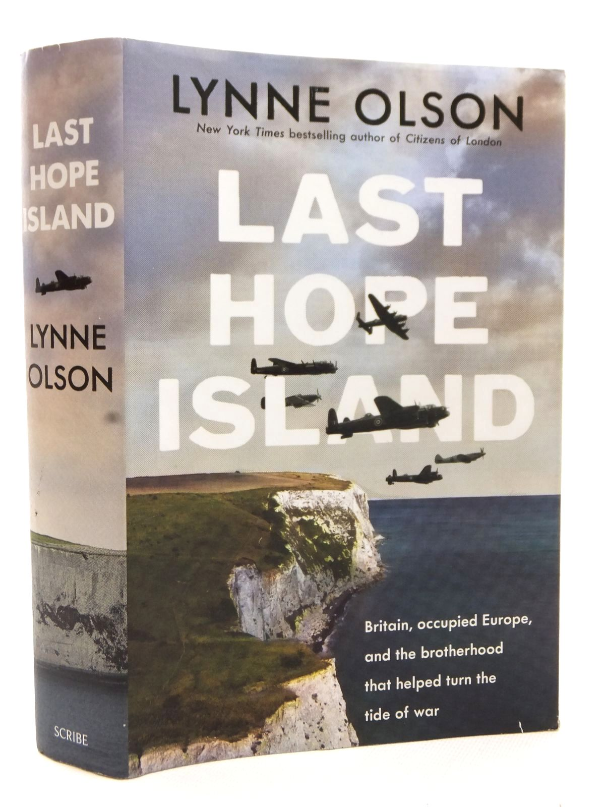 Photo of LAST HOPE ISLAND written by Olson, Lynne published by Scribe (STOCK CODE: 1609105)  for sale by Stella & Rose's Books