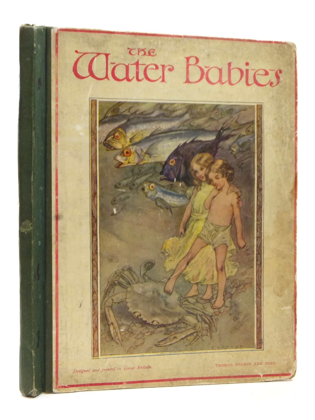 Photo of THE WATER BABIES written by Kingsley, Charles illustrated by Jackson, A.E. published by Thomas Nelson & Sons (STOCK CODE: 1609175)  for sale by Stella & Rose's Books