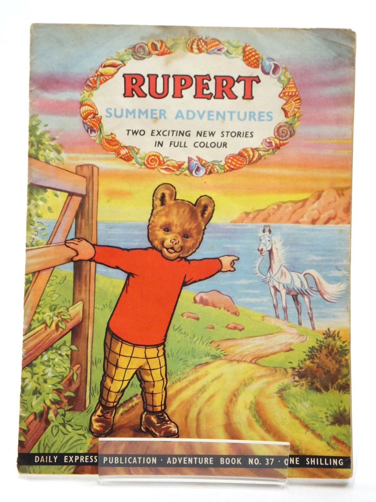 Photo of RUPERT ADVENTURE BOOK No. 37 - SUMMER ADVENTURES- Stock Number: 1609214