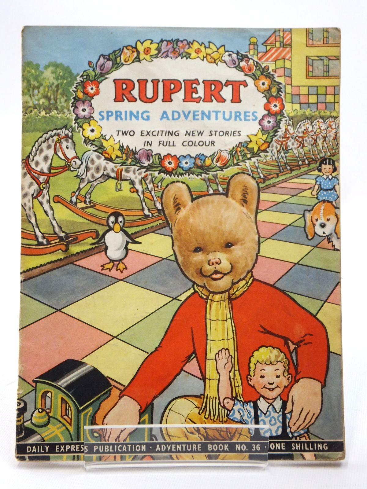 Photo of RUPERT ADVENTURE BOOK No. 36 - SPRING ADVENTURES- Stock Number: 1609215