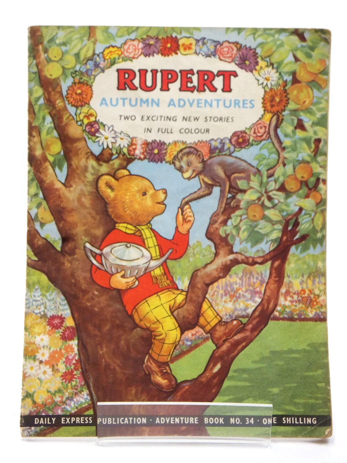 Photo of RUPERT ADVENTURE BOOK No. 34 - AUTUMN ADVENTURES- Stock Number: 1609216