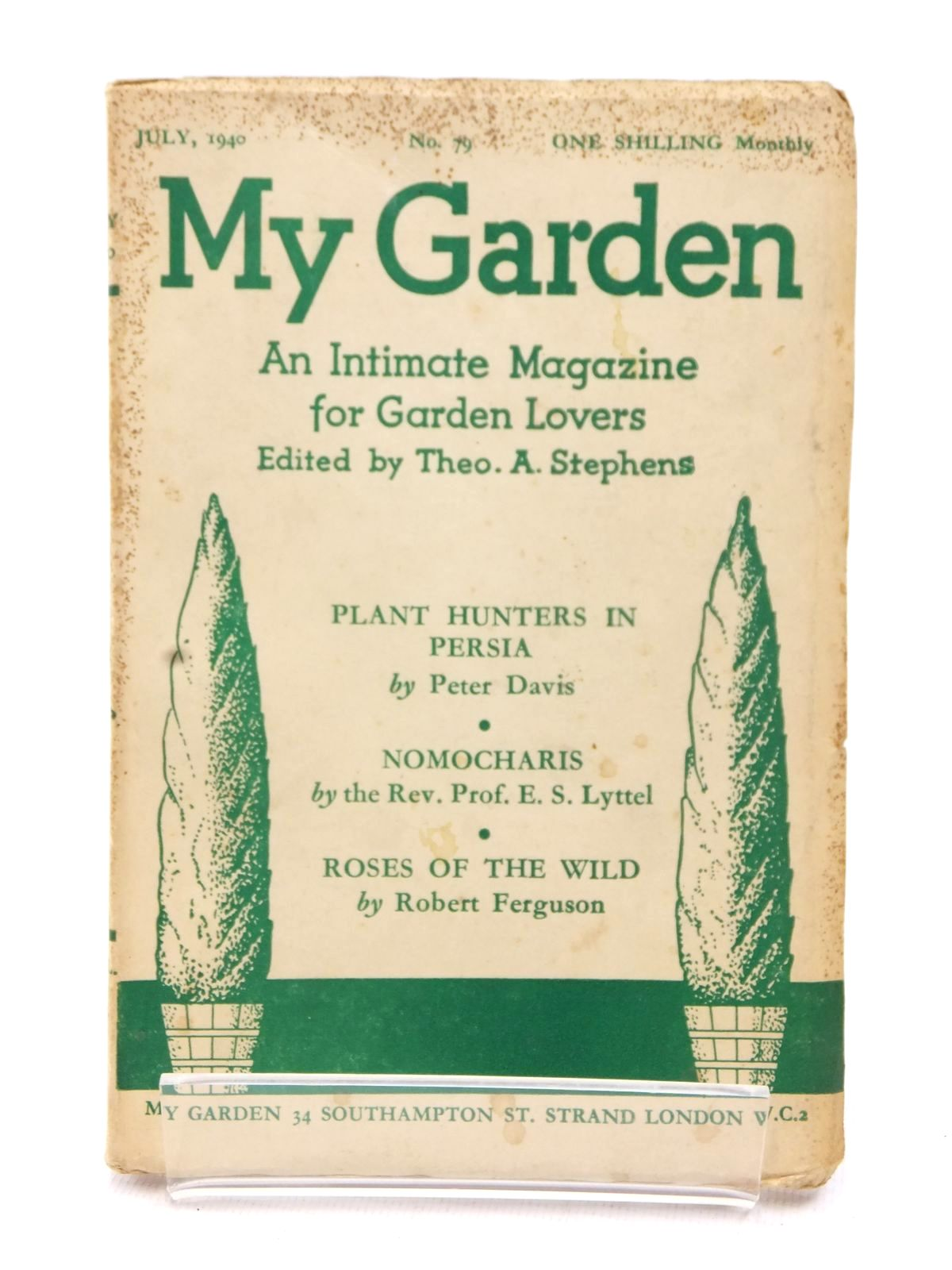 Photo of MY GARDEN JULY 1940 (VOL. 20 No. 79) written by Stephens, Theo A.<br />Johns, W.E. published by My Garden (STOCK CODE: 1609236)  for sale by Stella & Rose's Books