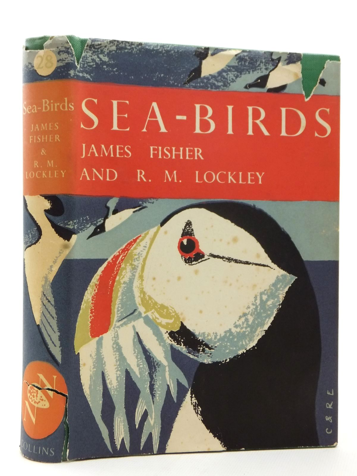 Photo of SEA-BIRDS (NN 28) written by Fisher, James Lockley, Ronald M. published by Collins (STOCK CODE: 1609248)  for sale by Stella & Rose's Books