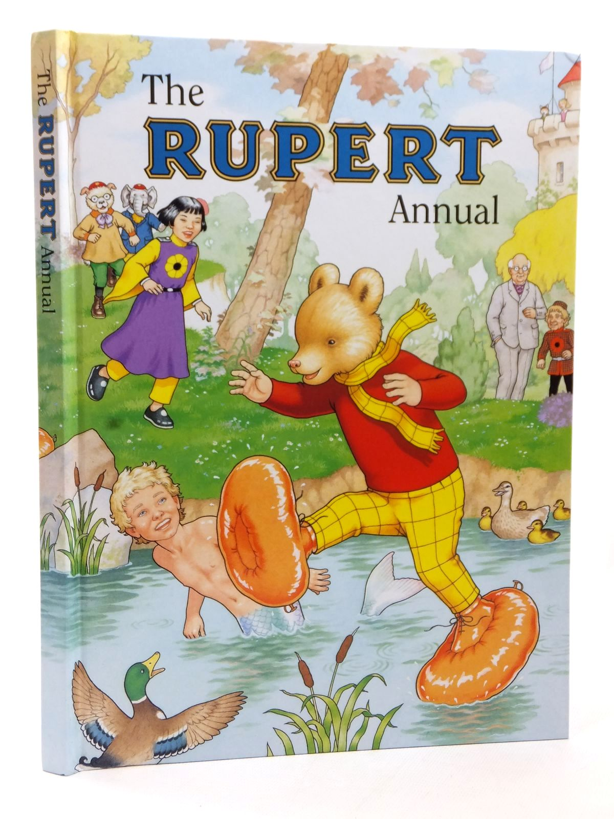Photo of RUPERT ANNUAL 1997 written by Robinson, Ian illustrated by Harrold, John published by Pedigree Books Limited (STOCK CODE: 1609288)  for sale by Stella & Rose's Books