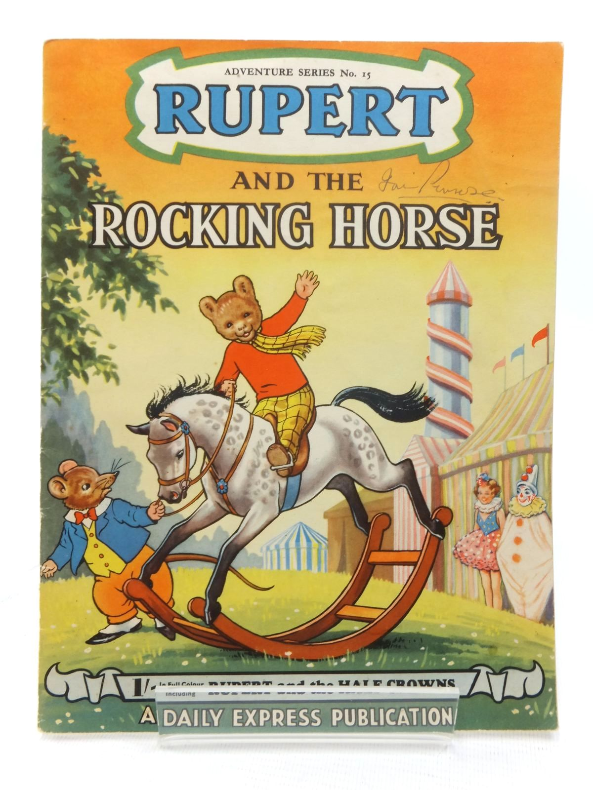 Photo of RUPERT ADVENTURE SERIES No. 15 - RUPERT AND THE ROCKING HORSE- Stock Number: 1609550