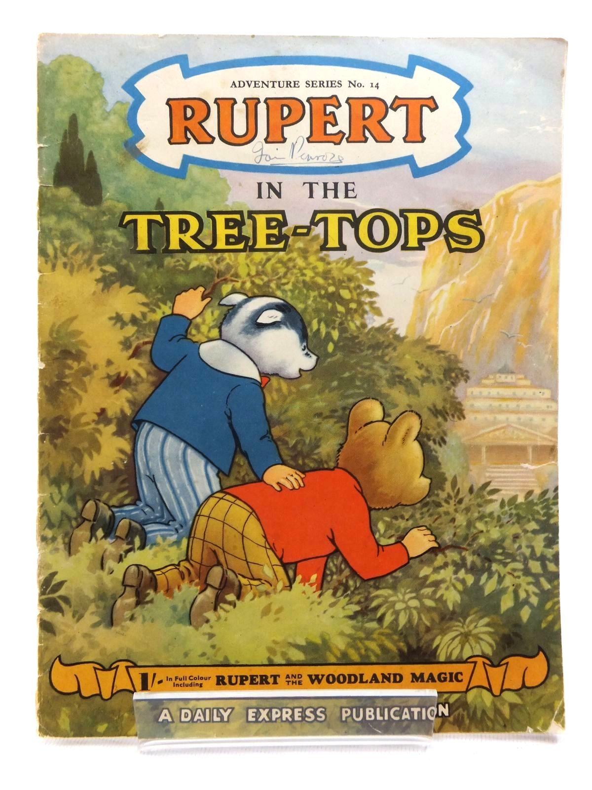 Photo of RUPERT ADVENTURE SERIES No. 14 - RUPERT IN THE TREE TOPS- Stock Number: 1609551