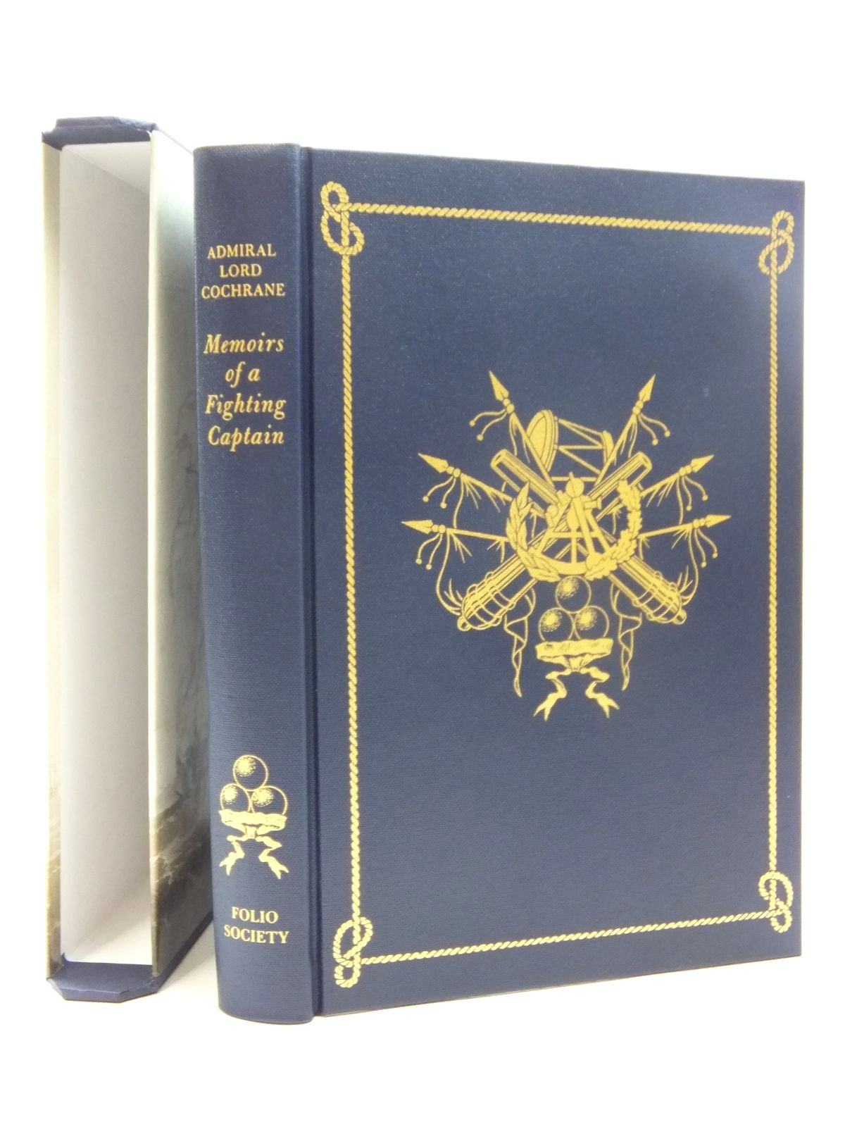 Photo of MEMOIRS OF A FIGHTING CAPTAIN written by Cochrane, Admiral Lord<br />Vale, Brian published by Folio Society (STOCK CODE: 1609672)  for sale by Stella & Rose's Books