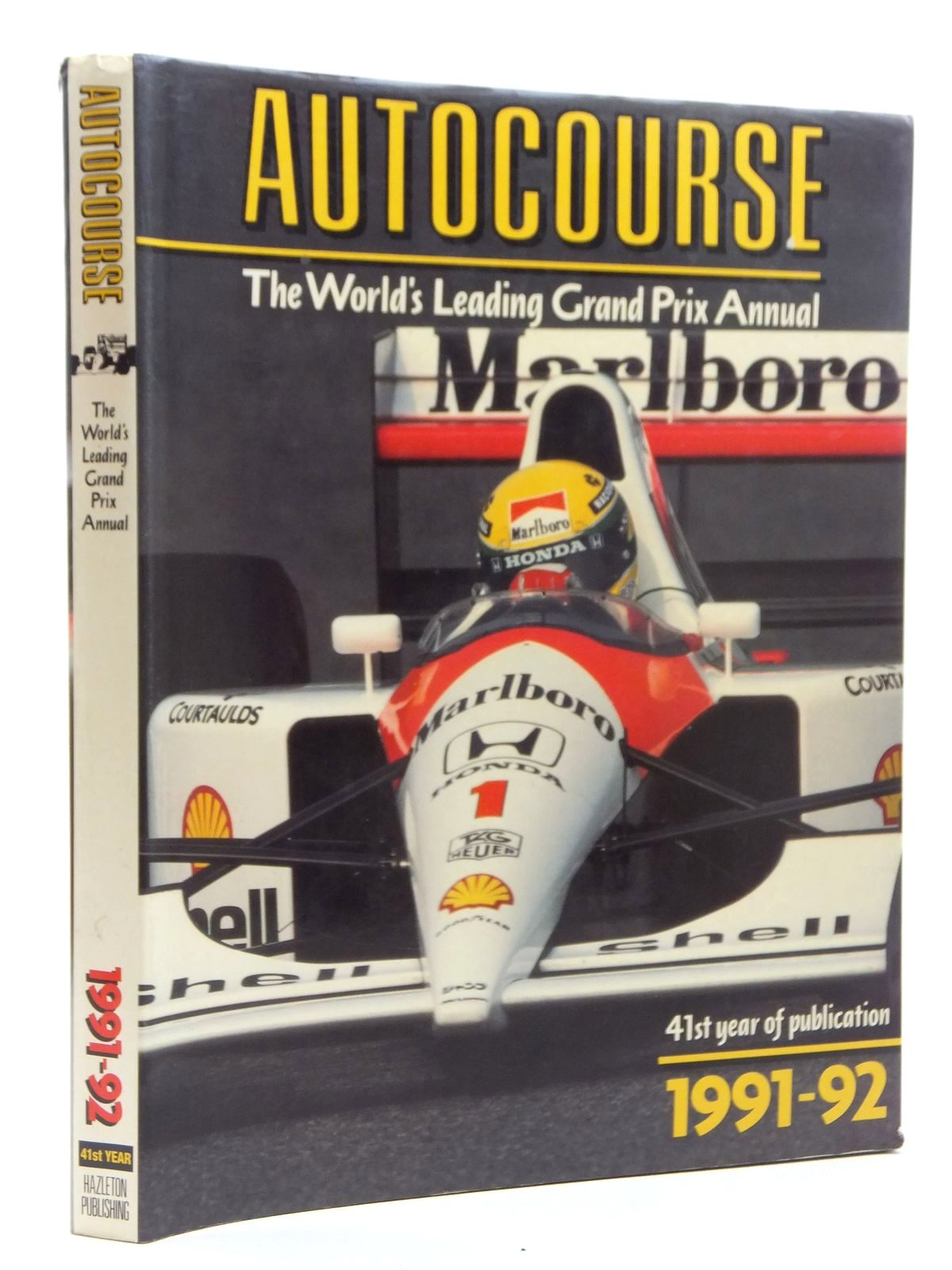Photo of AUTOCOURSE 1991-1992 written by Henry, Alan published by Hazleton Publishing (STOCK CODE: 1609805)  for sale by Stella & Rose's Books