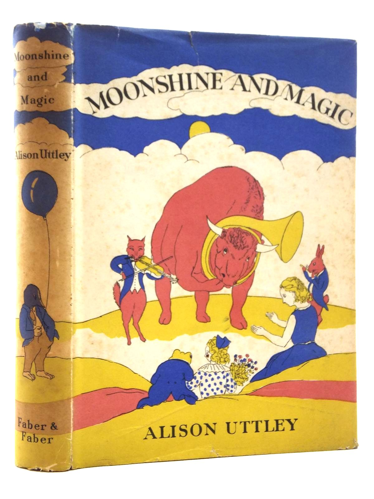 Photo of MOONSHINE AND MAGIC written by Uttley, Alison illustrated by Townsend, William published by Faber & Faber (STOCK CODE: 1609837)  for sale by Stella & Rose's Books