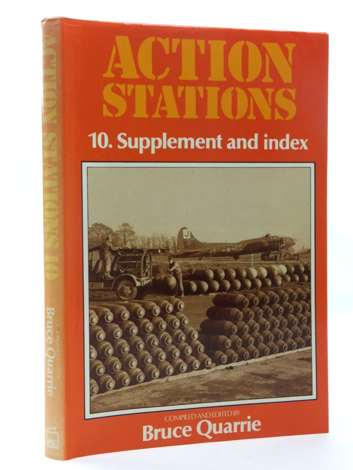 Photo of ACTION STATIONS 10 SUPPLEMENT AND INDEX written by Quarrie, Bruce published by Patrick Stephens (STOCK CODE: 1610102)  for sale by Stella & Rose's Books