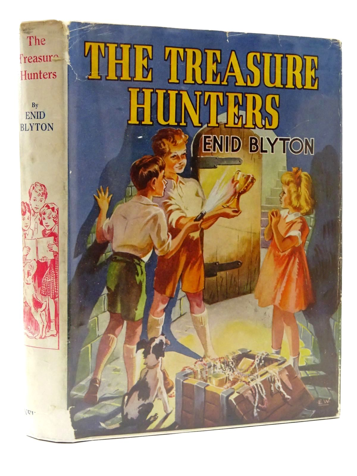 Photo of THE TREASURE HUNTERS written by Blyton, Enid illustrated by Wilson, E. Davies, Joyce published by George Newnes Limited (STOCK CODE: 1610114)  for sale by Stella & Rose's Books