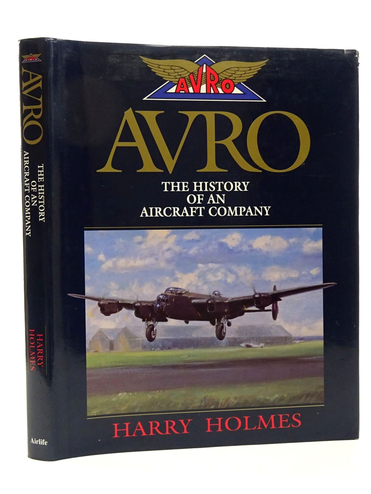 Photo of AVRO THE HISTORY OF AN AIRCRAFT COMPANY written by Holmes, Harry published by Airlife (STOCK CODE: 1610148)  for sale by Stella & Rose's Books