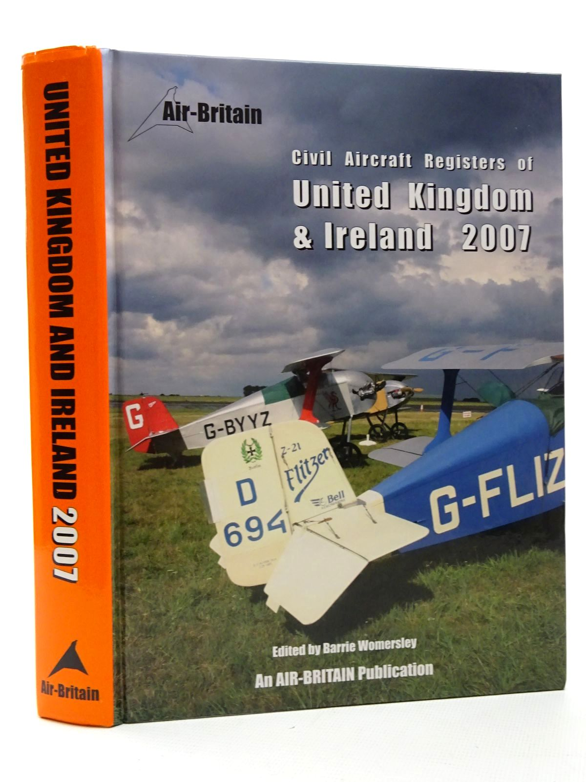 Photo of CIVIL AIRCRAFT AND GLIDER REGISTERS OF UNITED KINGDOM AND IRELAND 2007 written by Womersley, Barrie published by Air Britain (STOCK CODE: 1610153)  for sale by Stella & Rose's Books