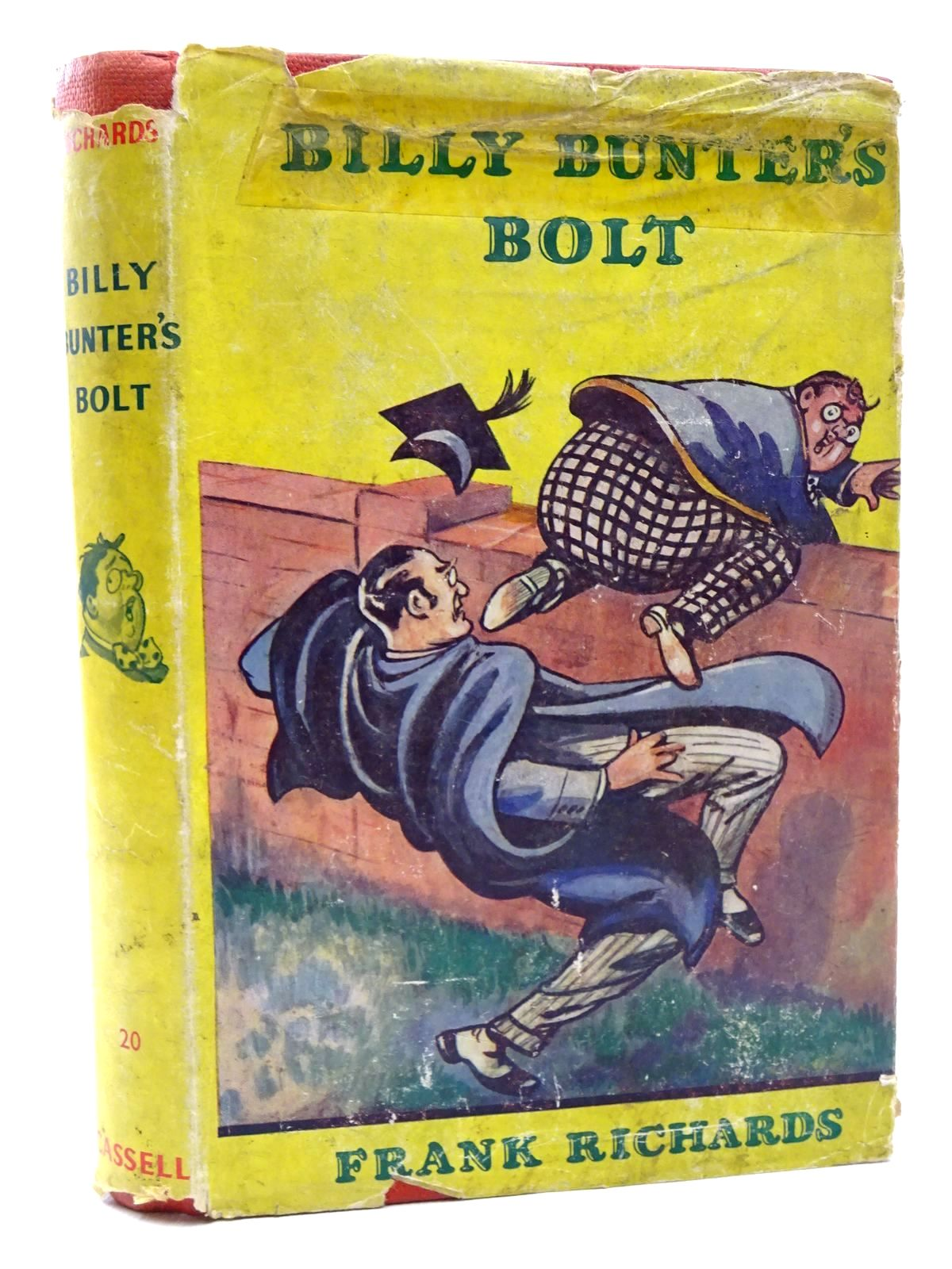 Photo of BILLY BUNTER'S BOLT written by Richards, Frank illustrated by Chapman, C.H. published by Cassell & Company Ltd (STOCK CODE: 1610176)  for sale by Stella & Rose's Books