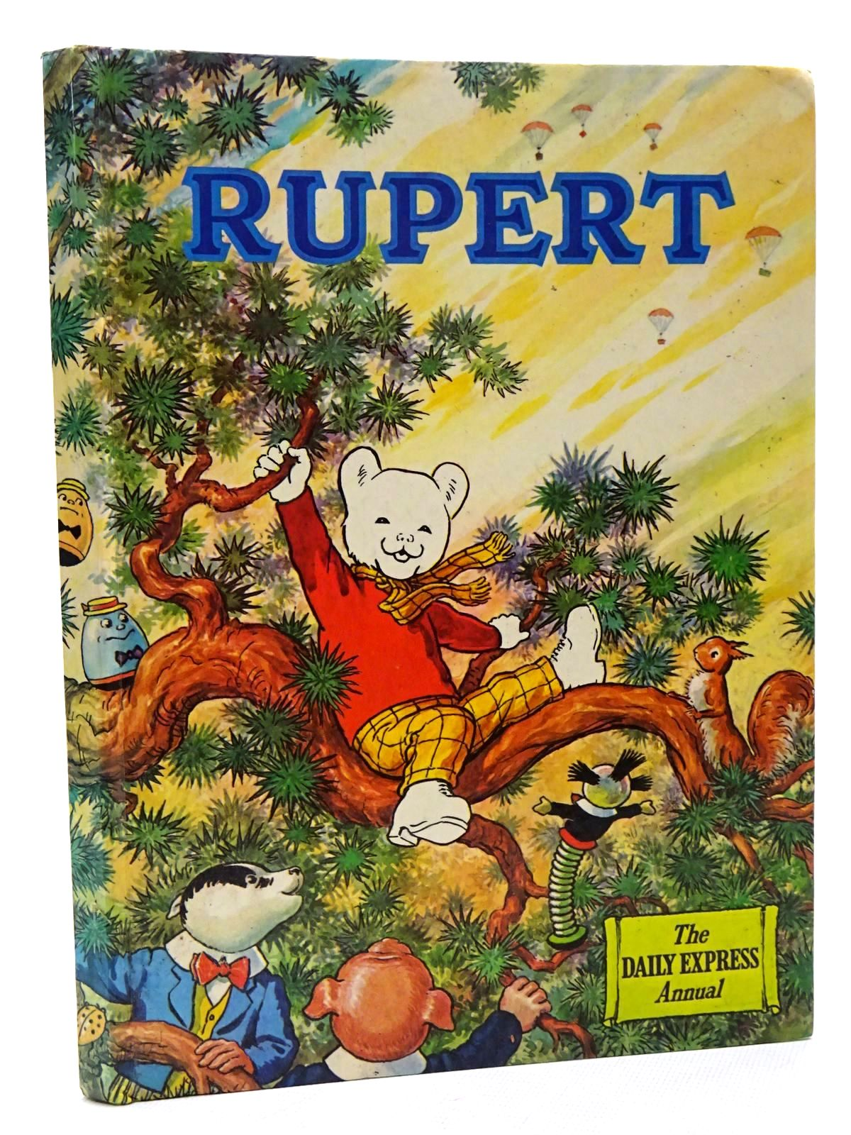 Photo of RUPERT ANNUAL 1973 written by Bestall, Alfred illustrated by Bestall, Alfred published by Daily Express (STOCK CODE: 1610201)  for sale by Stella & Rose's Books