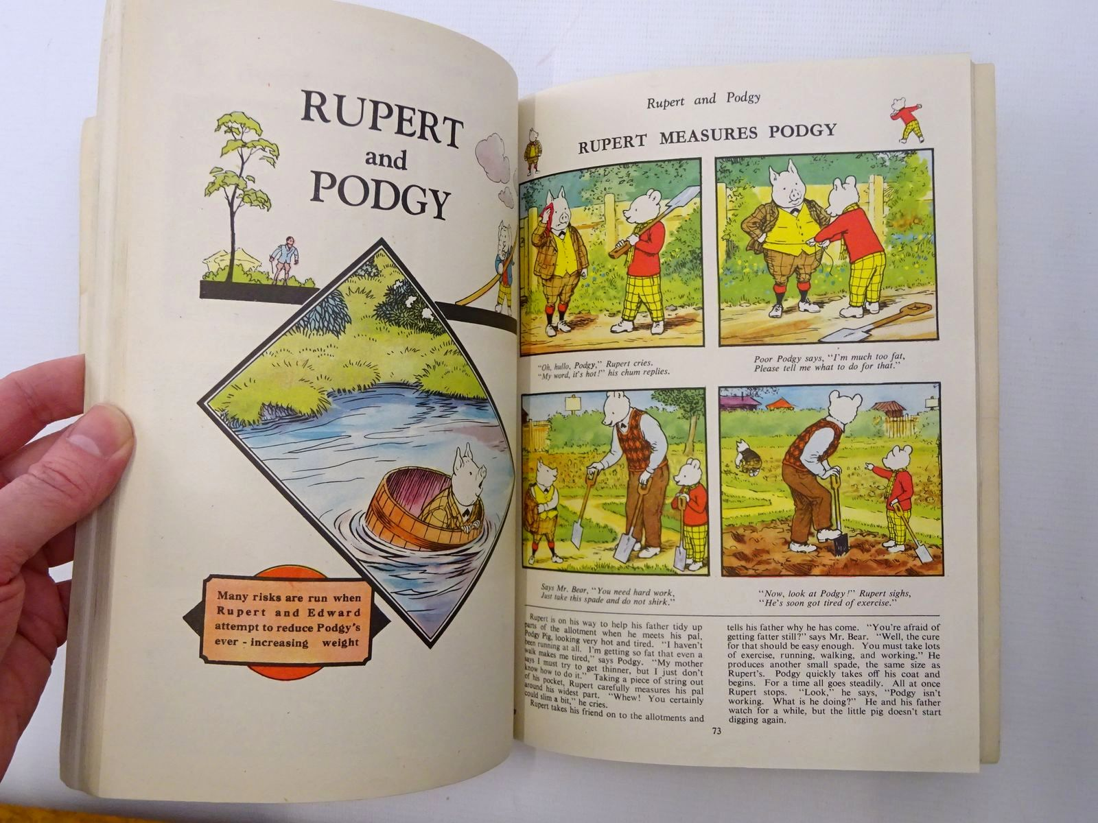 Photo of RUPERT ANNUAL 1946 - THE NEW RUPERT BOOK written by Bestall, Alfred illustrated by Bestall, Alfred published by Daily Express (STOCK CODE: 1610202)  for sale by Stella & Rose's Books