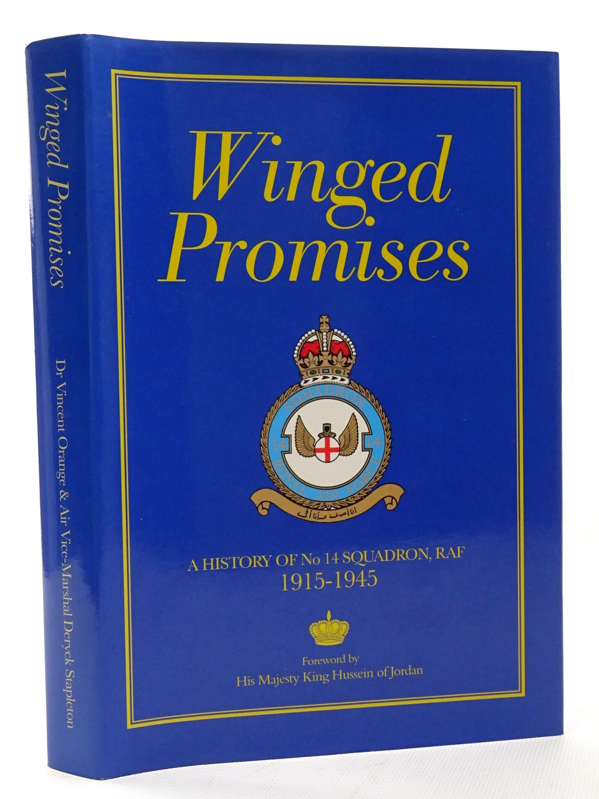 Photo of WINGED PROMISES A HISTORY OF No. 14 SQUADRON RAF 1915-1945 written by Orange, Vincent Deramore, Lord published by Royal Air Force Benevolent Fund Enterprises (STOCK CODE: 1610207)  for sale by Stella & Rose's Books