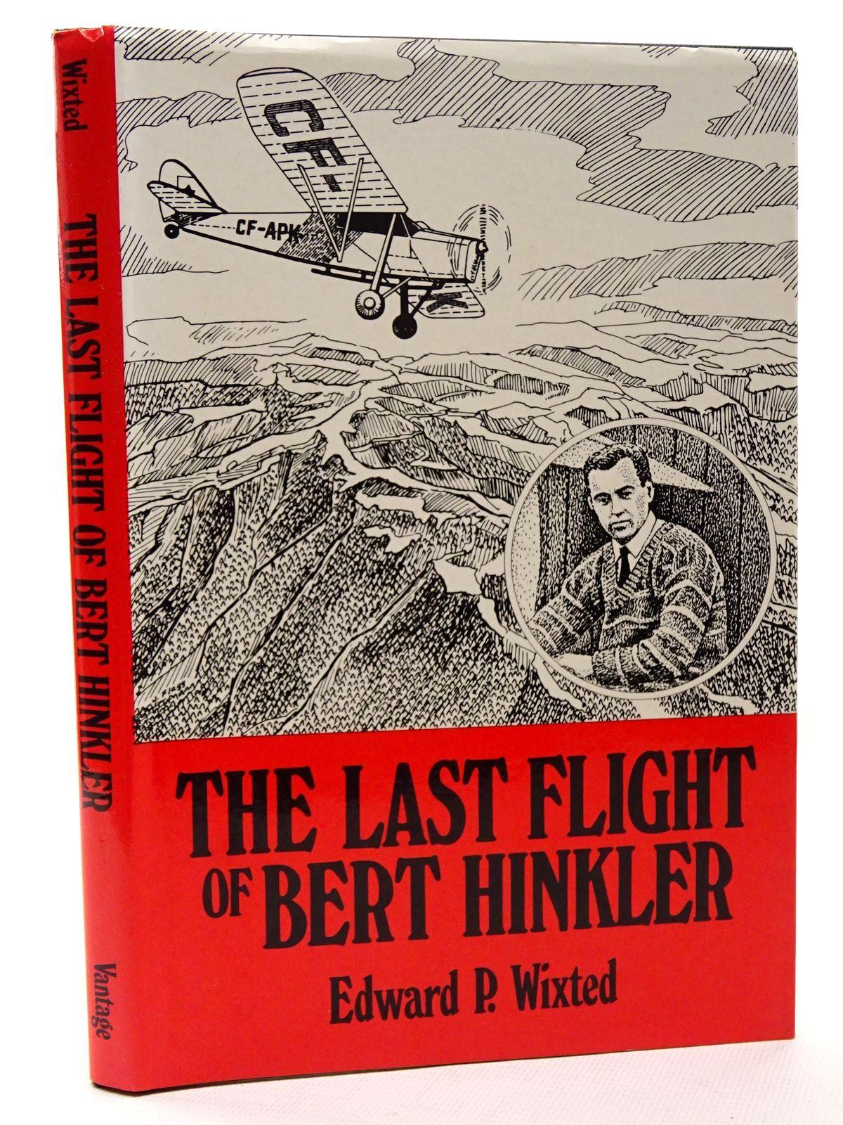 Photo of THE LAST FLIGHT OF BERT HINKLER- Stock Number: 1610234