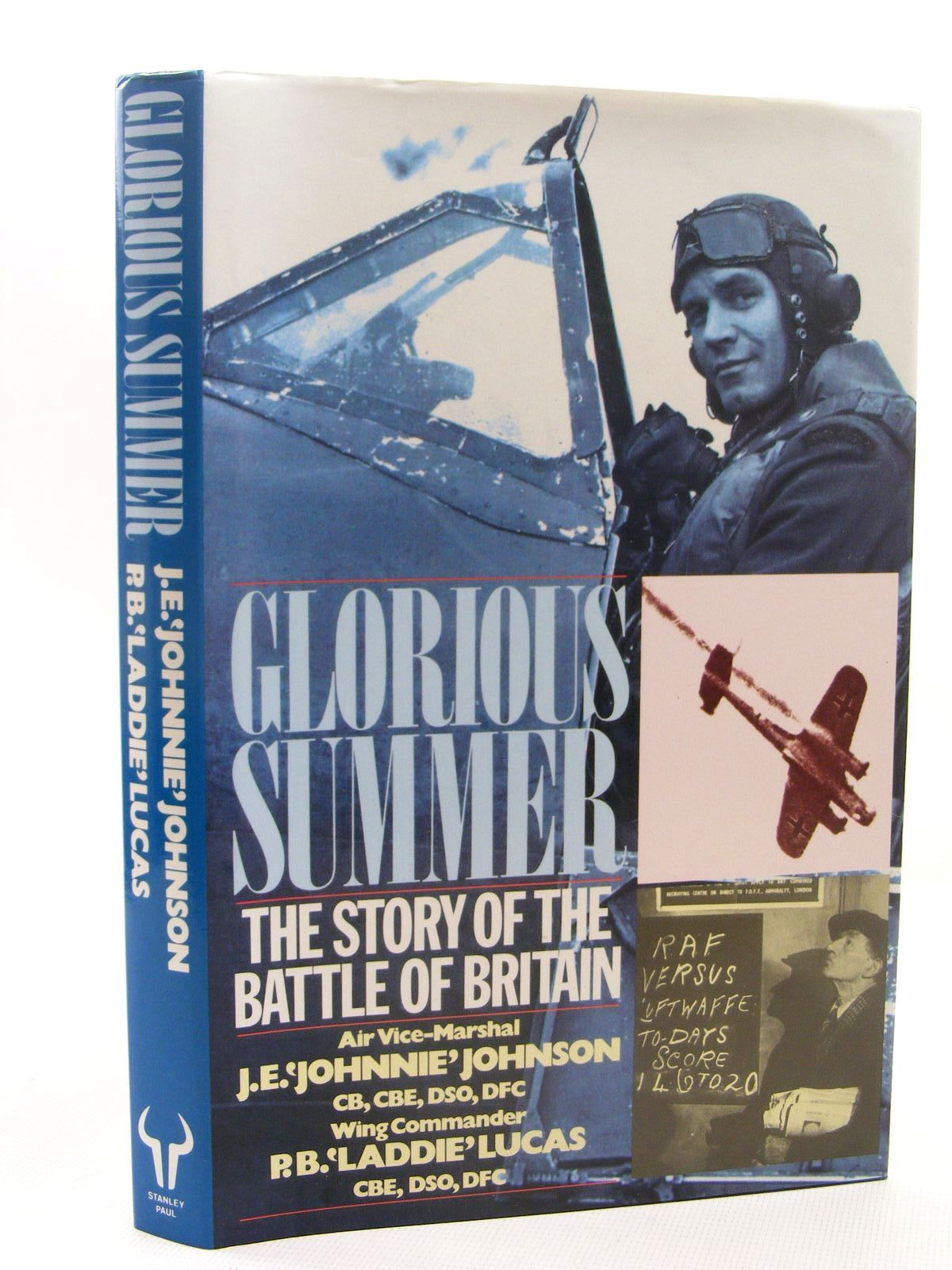 Photo of GLORIOUS SUMMER THE STORY OF THE BATTLE OF BRITAIN written by Johnson, J.E. Lucas, P.B. published by Stanley Paul (STOCK CODE: 1610278)  for sale by Stella & Rose's Books
