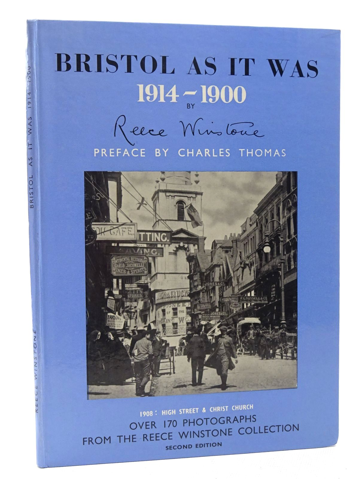 Photo of BRISTOL AS IT WAS 1914-1900 written by Winstone, Reece published by Reece Winstone (STOCK CODE: 1610375)  for sale by Stella & Rose's Books