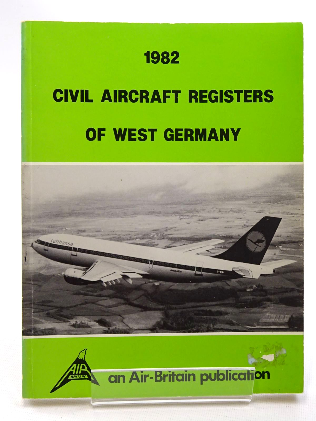 Photo of CIVIL AIRCRAFT REGISTERS OF WEST GERMANY 1982 written by Gerhardt, P-M published by Air-Britain (STOCK CODE: 1610402)  for sale by Stella & Rose's Books