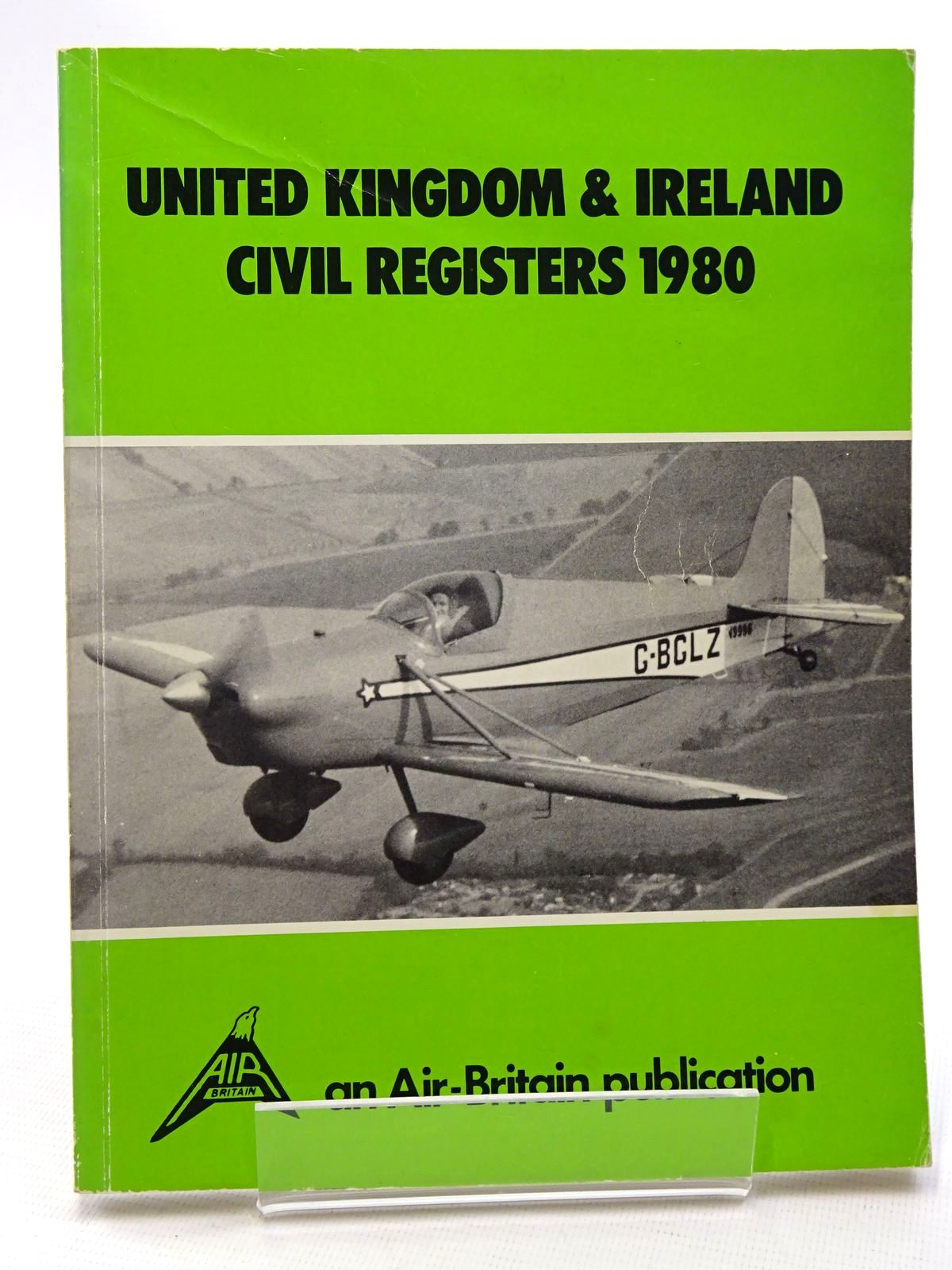 Photo of UNITED KINGDOM & IRELAND CIVIL REGISTERS 1980 written by Martin, Bernard published by Air-Britain (Historians) Ltd. (STOCK CODE: 1610403)  for sale by Stella & Rose's Books