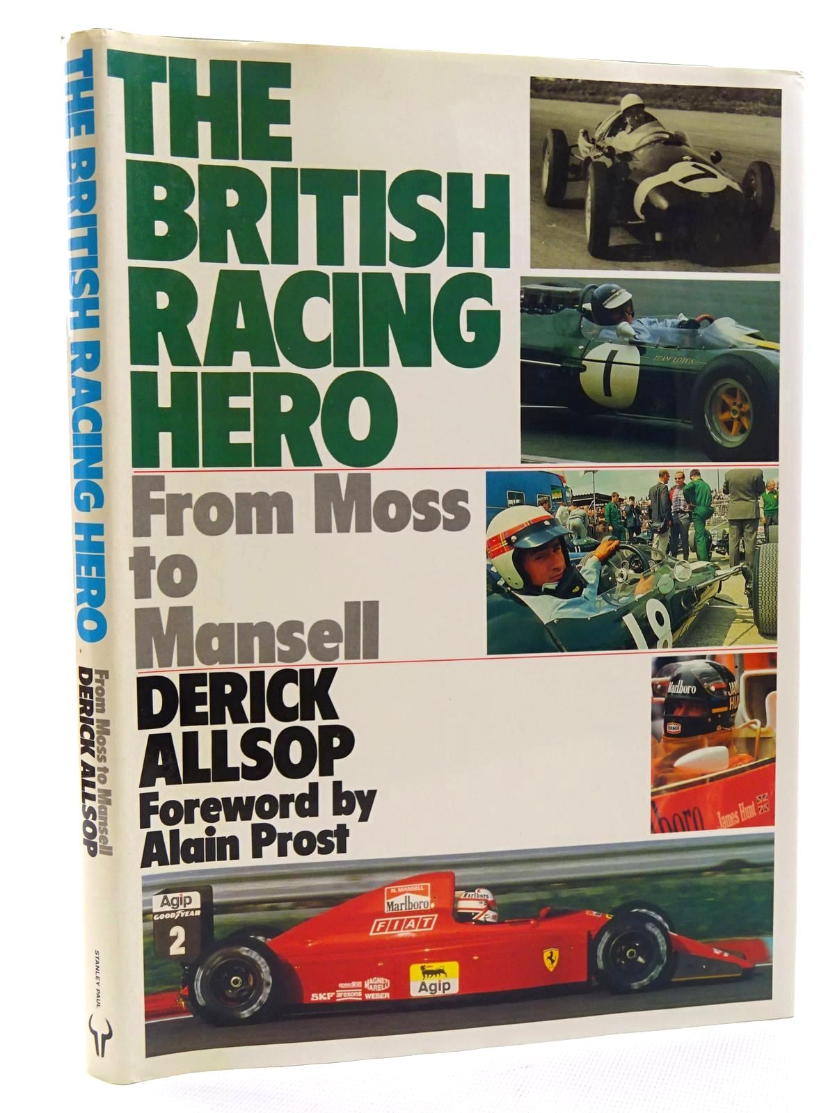 Photo of THE BRITISH RACING HERO written by Allsop, Derick published by Stanley Paul (STOCK CODE: 1610471)  for sale by Stella & Rose's Books