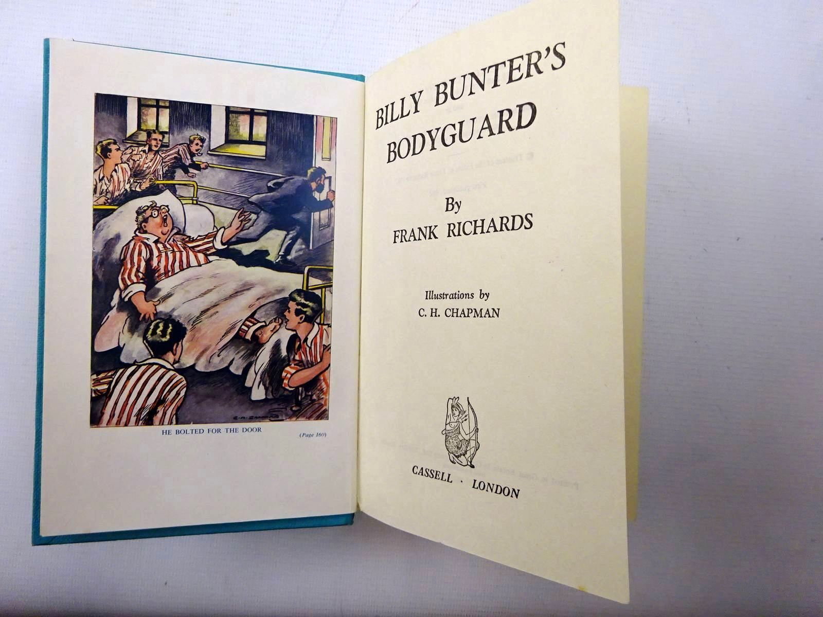 Photo of BILLY BUNTER'S BODYGUARD written by Richards, Frank illustrated by Chapman, C.H. published by Cassell & Company Ltd (STOCK CODE: 1610505)  for sale by Stella & Rose's Books