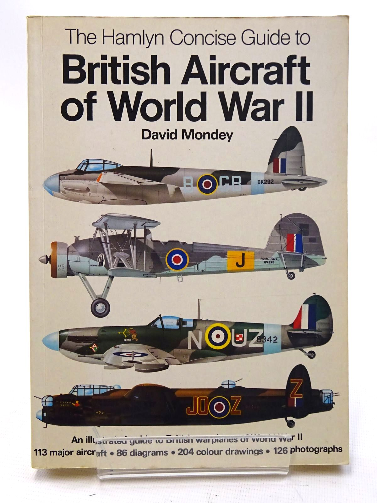 Photo of THE HAMLYN CONCISE GUIDE TO BRITISH AIRCRAFT OF WORLD WAR II written by Mondey, David published by Hamlyn (STOCK CODE: 1610600)  for sale by Stella & Rose's Books