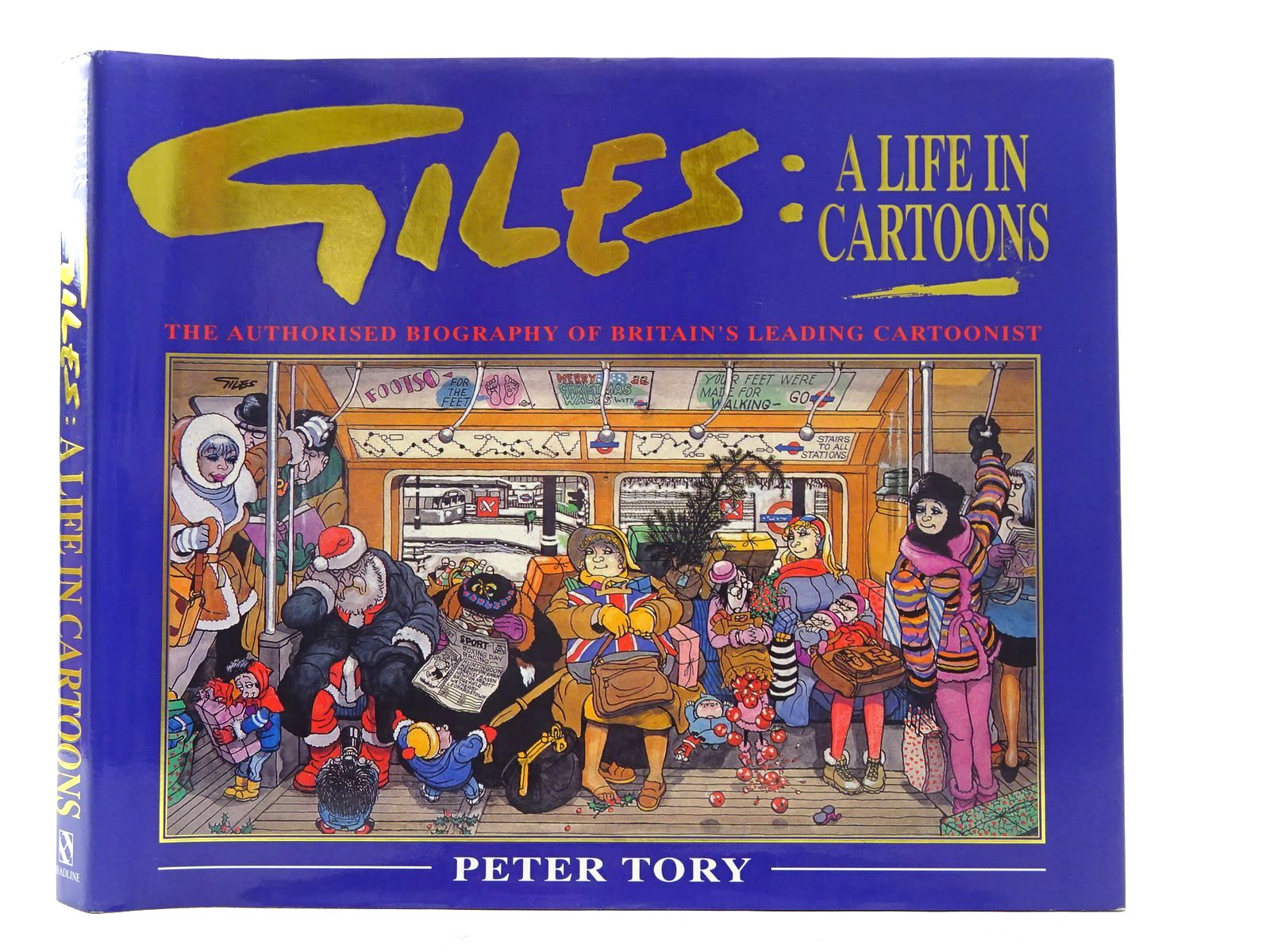 Photo of GILES A LIFE IN CARTOONS- Stock Number: 1610605