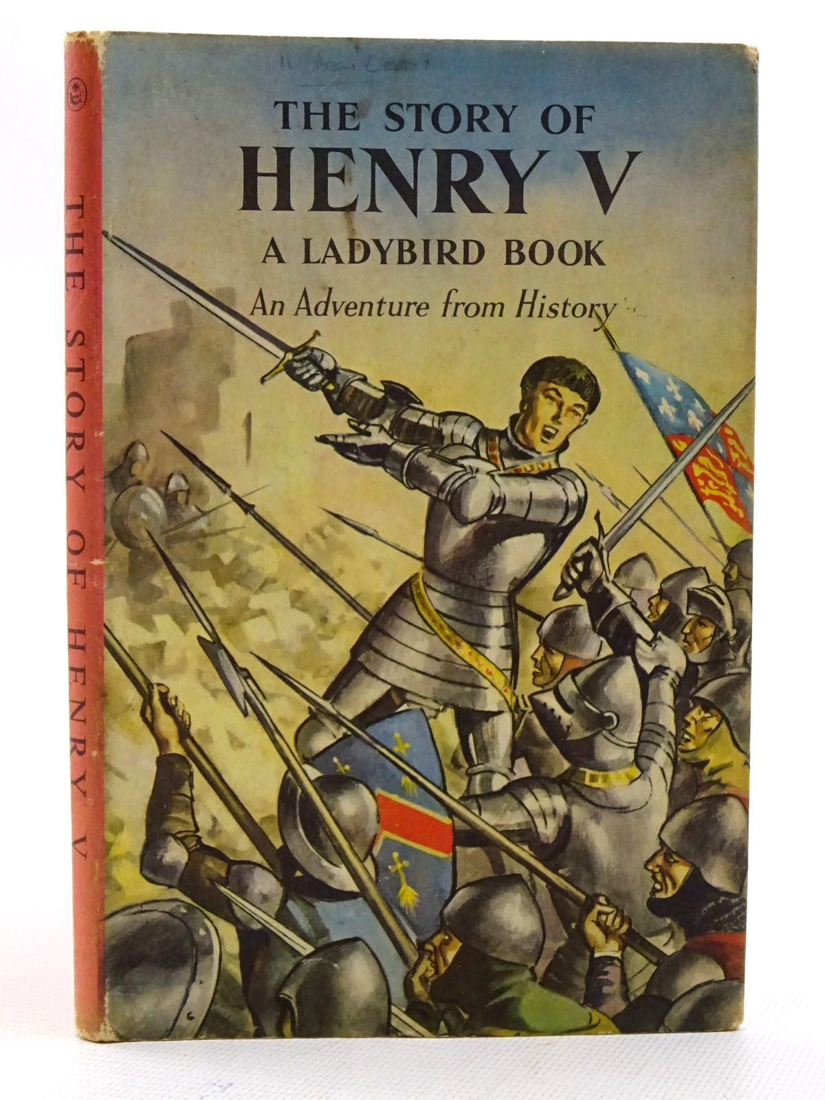 Photo of THE STORY OF HENRY V written by Peach, L. Du Garde illustrated by Kenney, John published by Wills & Hepworth Ltd. (STOCK CODE: 1610635)  for sale by Stella & Rose's Books