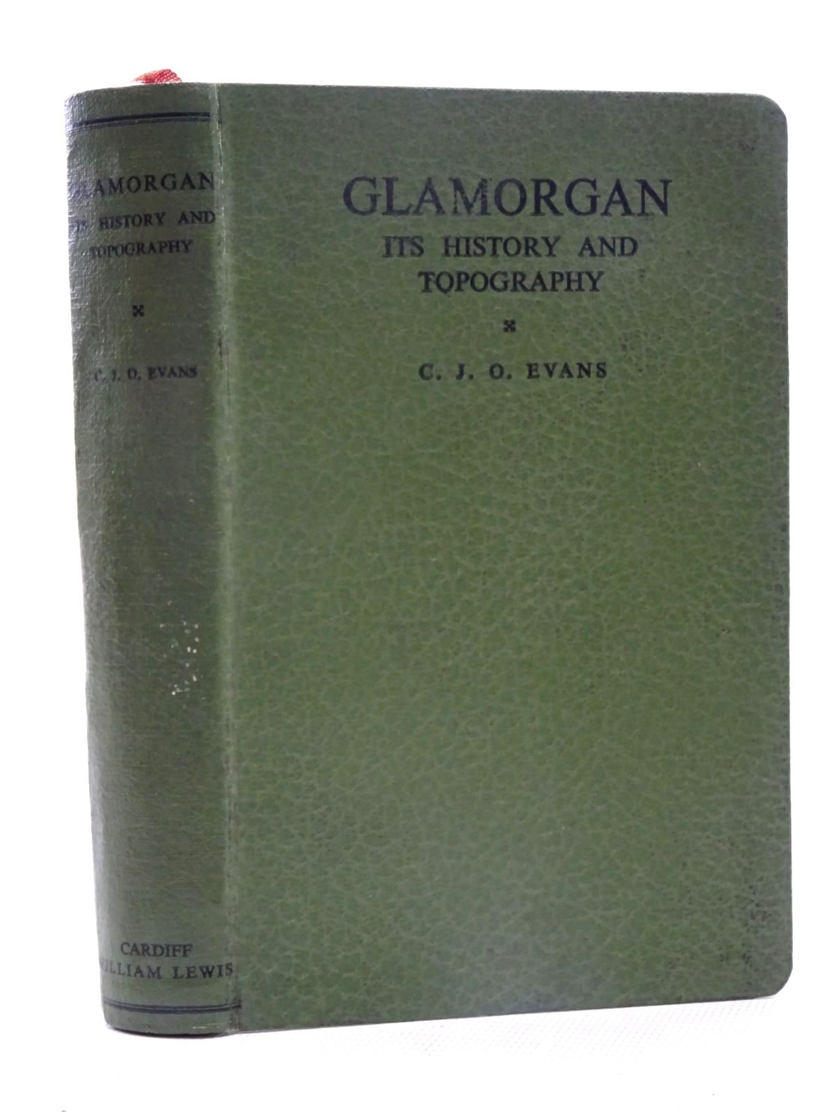 Photo of GLAMORGAN ITS HISTORY AND TOPOGRAPHY written by Evans, C.J.O. published by William Lewis (STOCK CODE: 1610687)  for sale by Stella & Rose's Books
