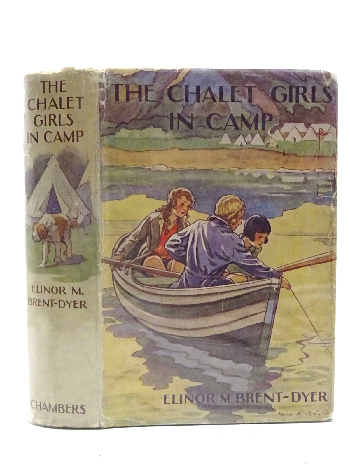Photo of THE CHALET GIRLS IN CAMP- Stock Number: 1610688